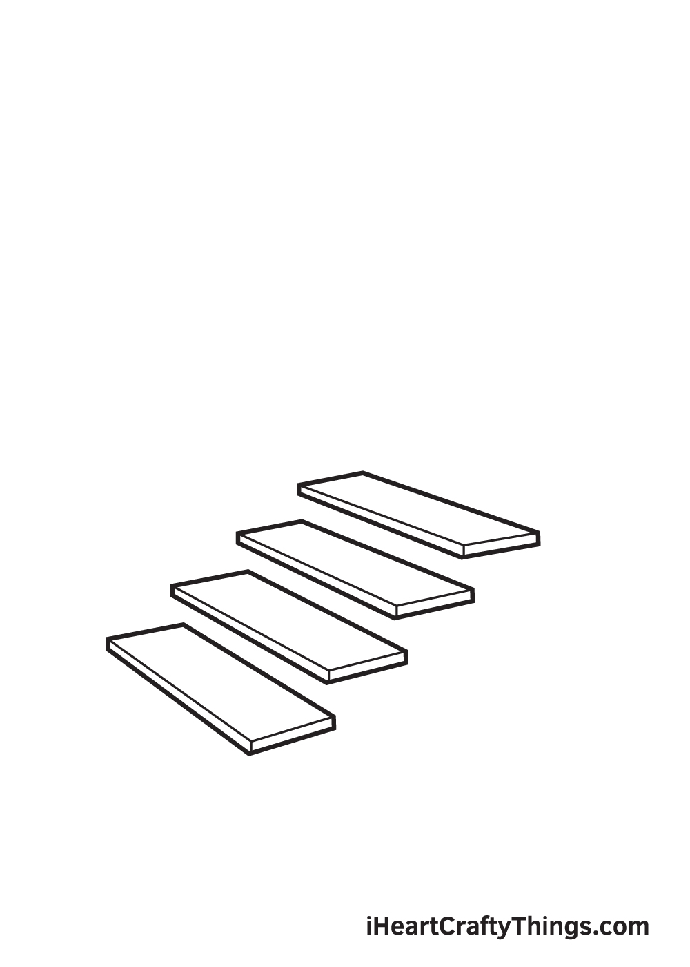 stairs drawing step 4