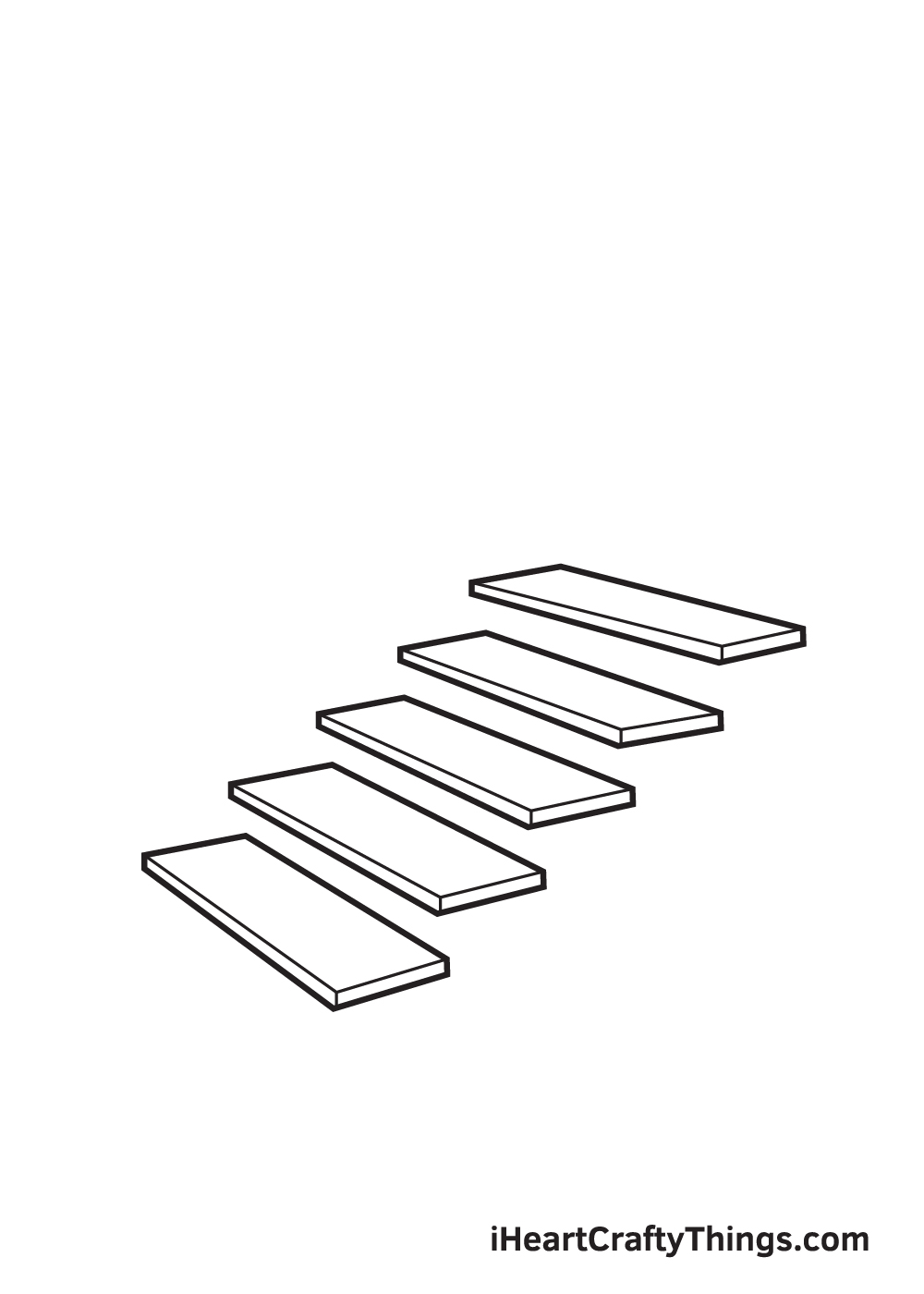 stairs drawing step 5
