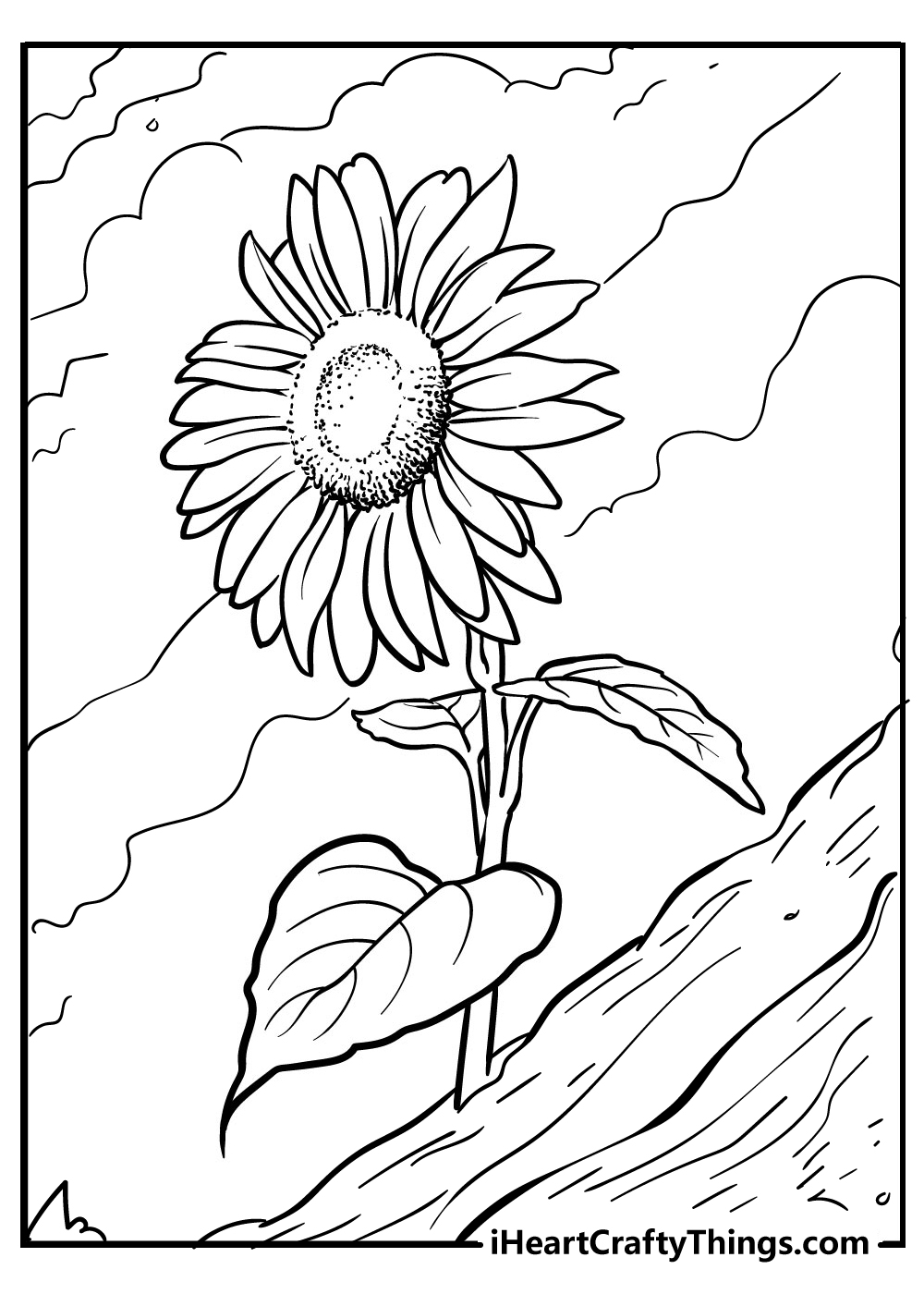 sunflower coloring books free download