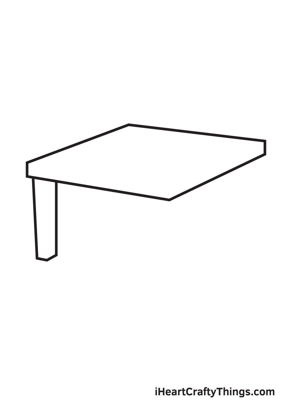 table drawing step 3
