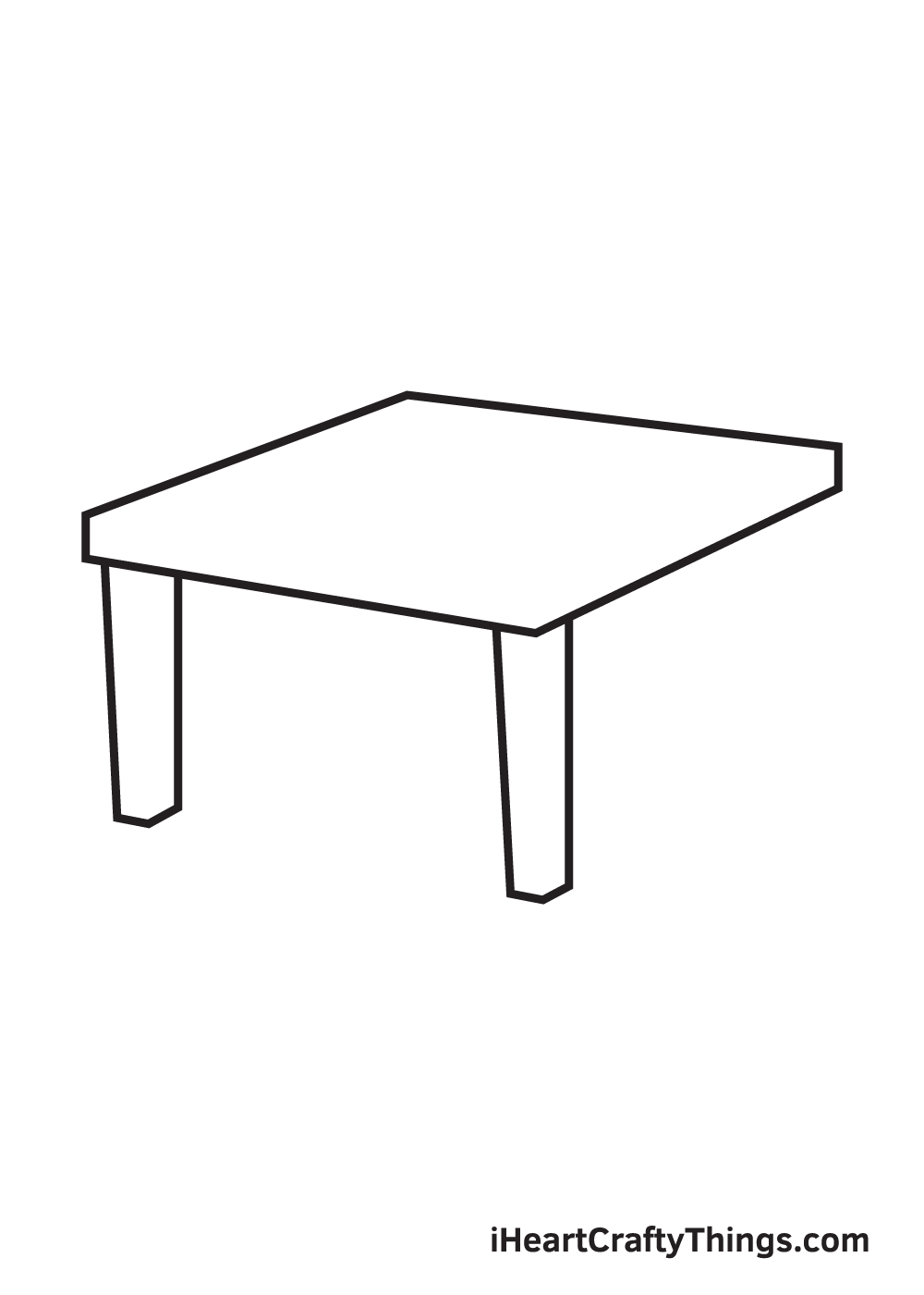 table drawing step 4