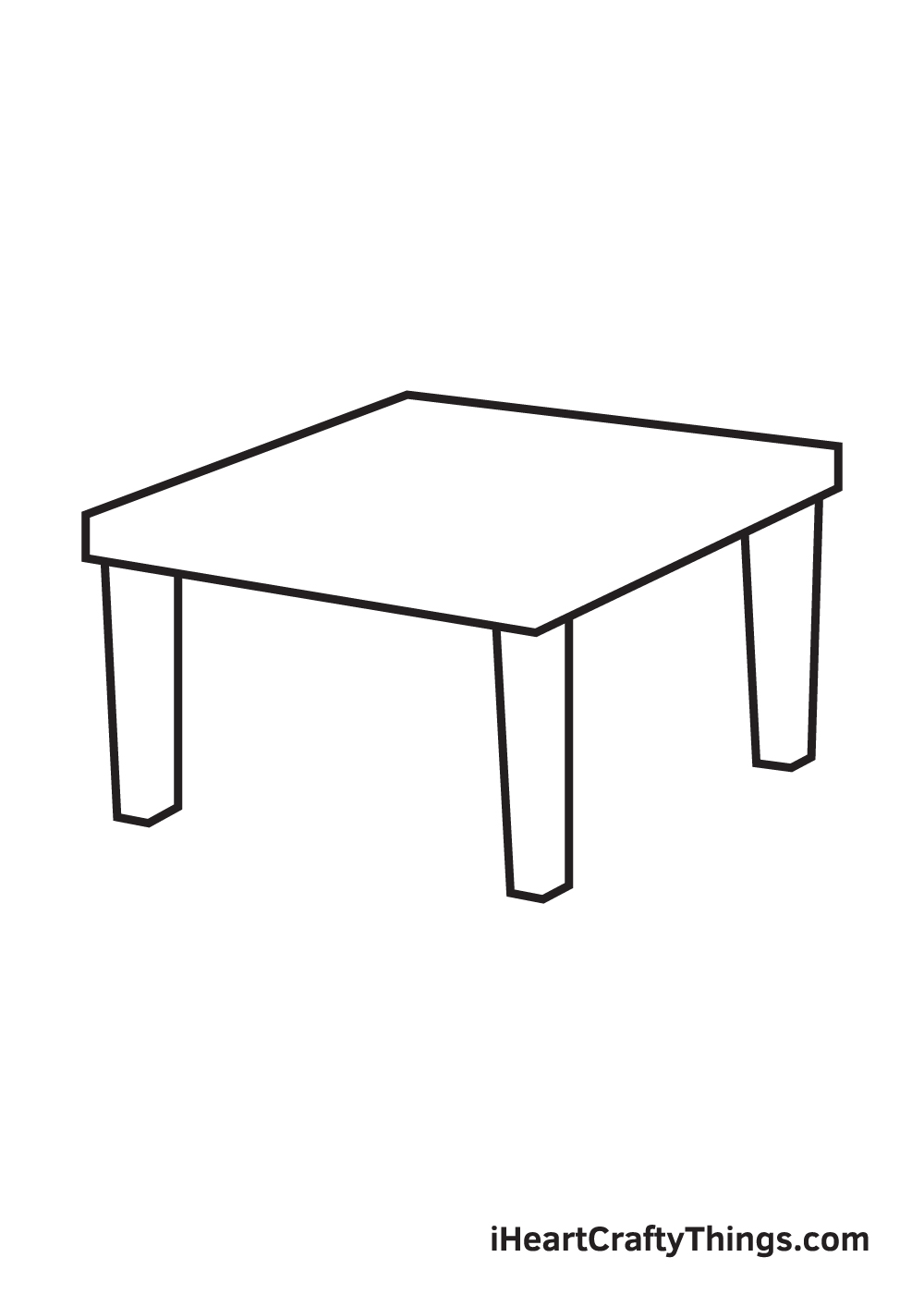 table drawing step 5