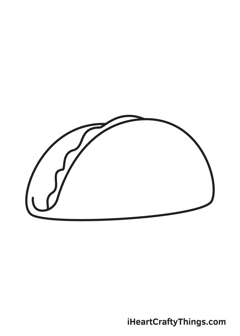 taco drawing step 3