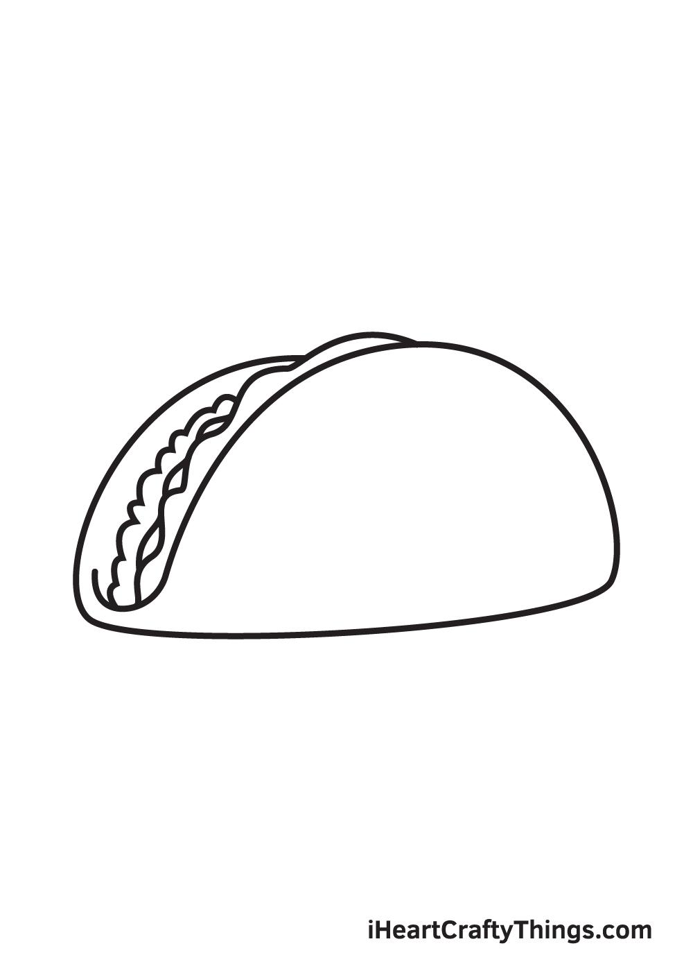 taco drawing step 5