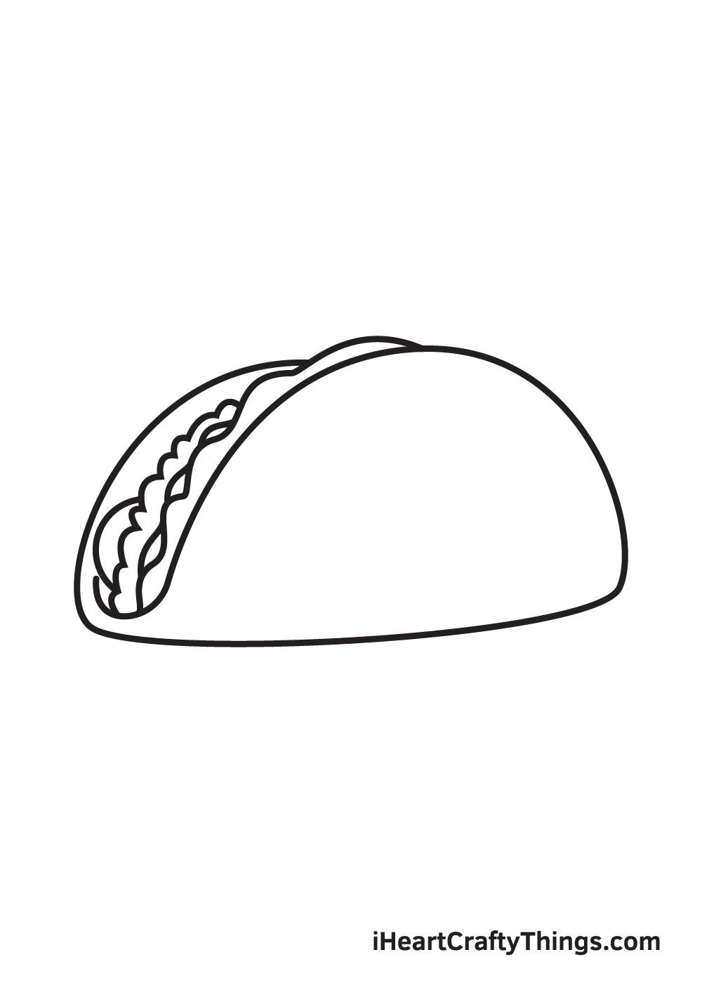 taco drawing step 6