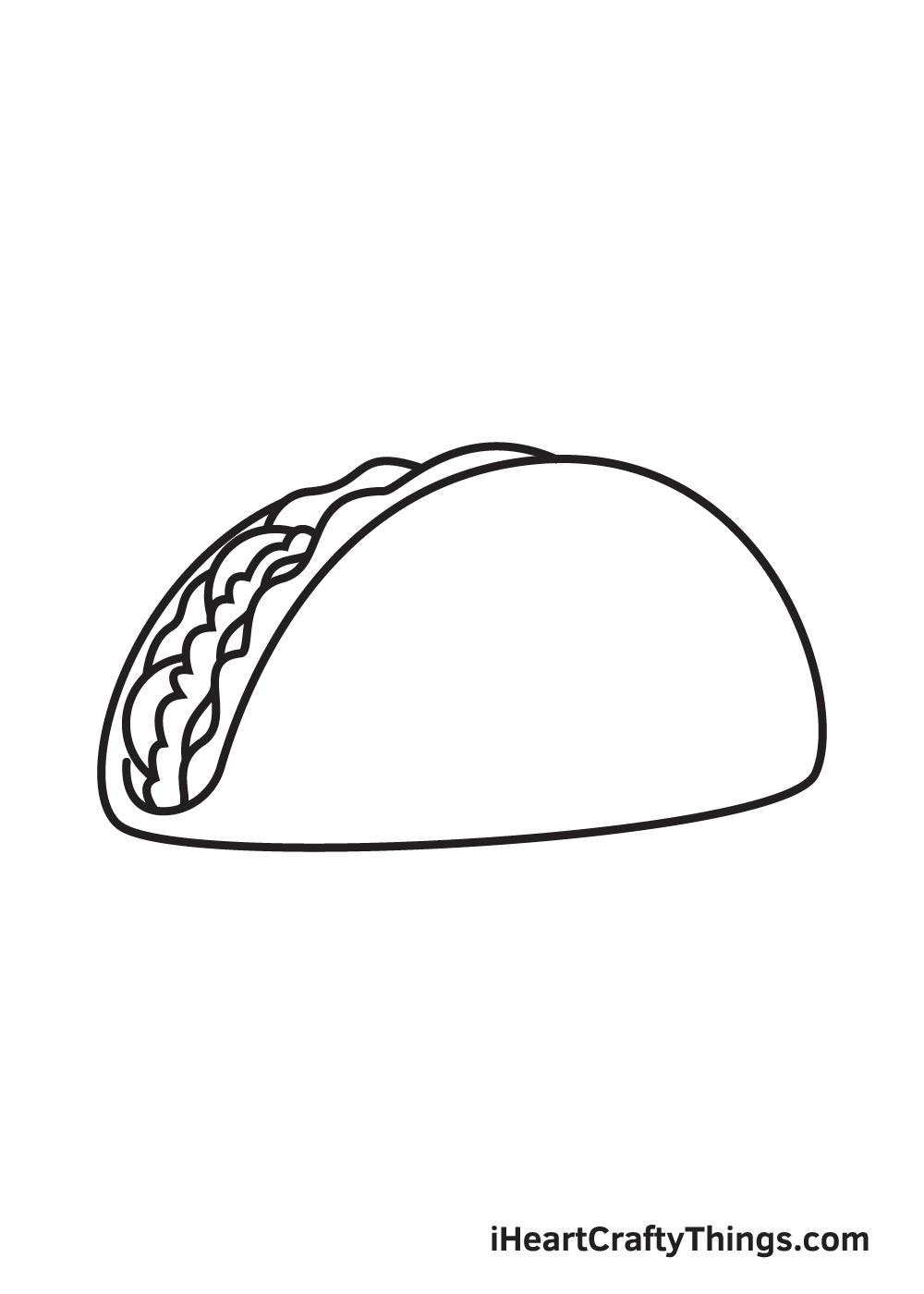 taco drawing step 8