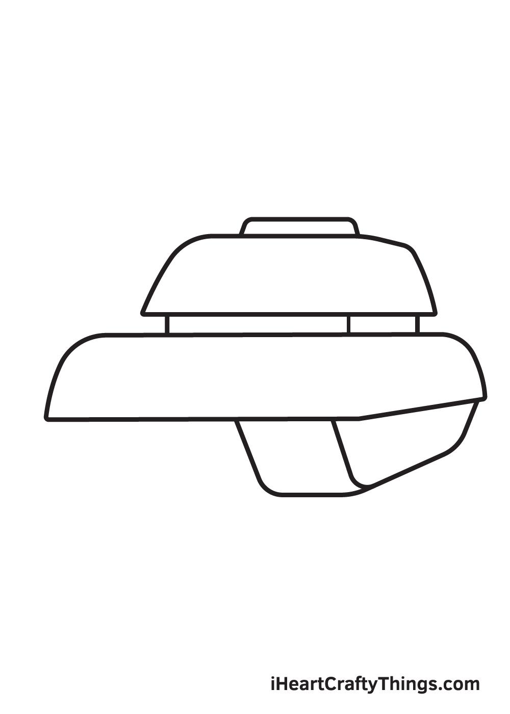 tank drawing step 4