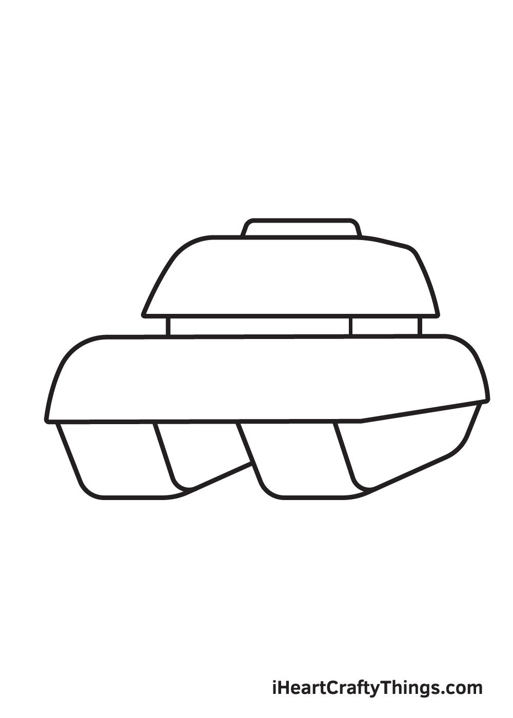 tank drawing step 5
