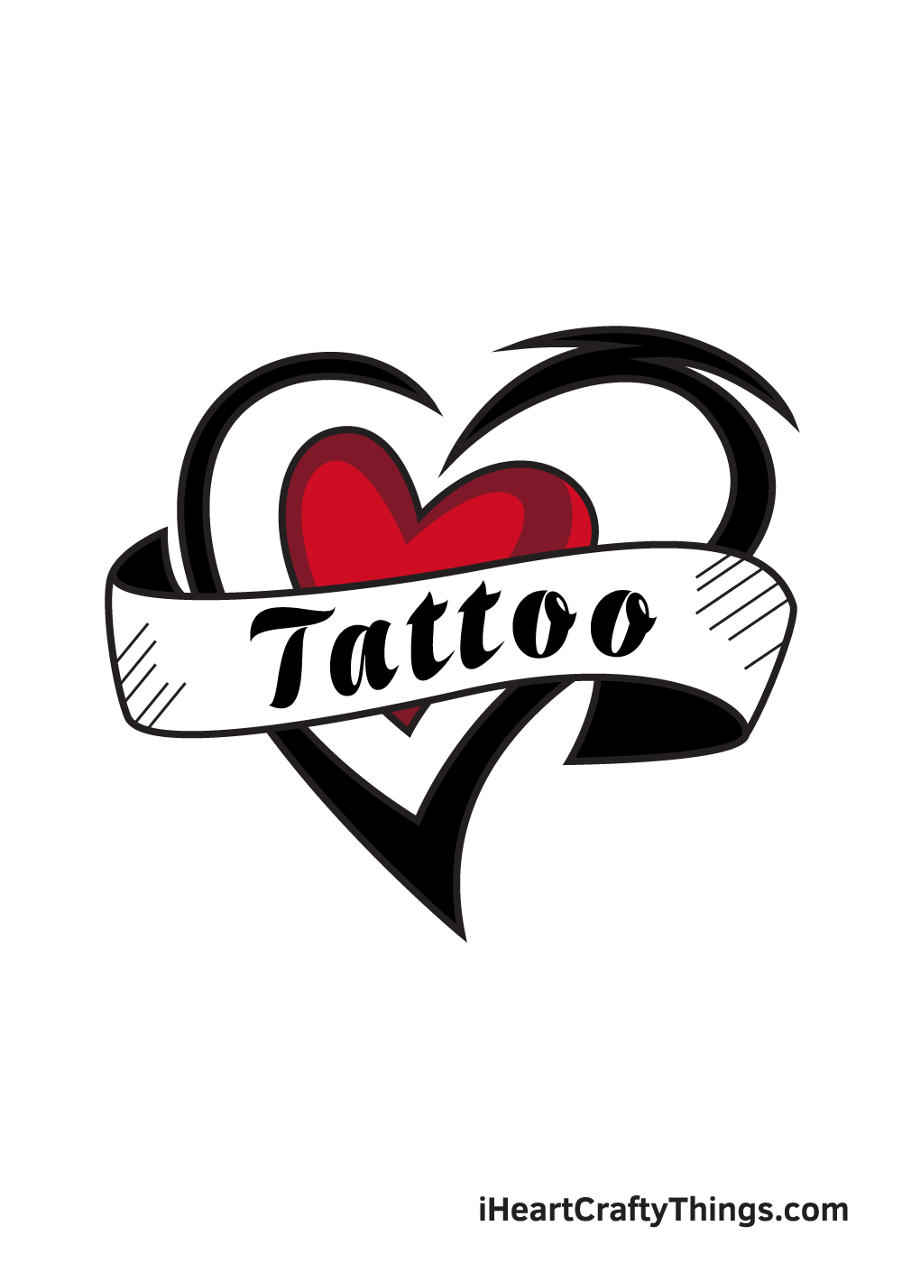 tattoo drawing 9 steps