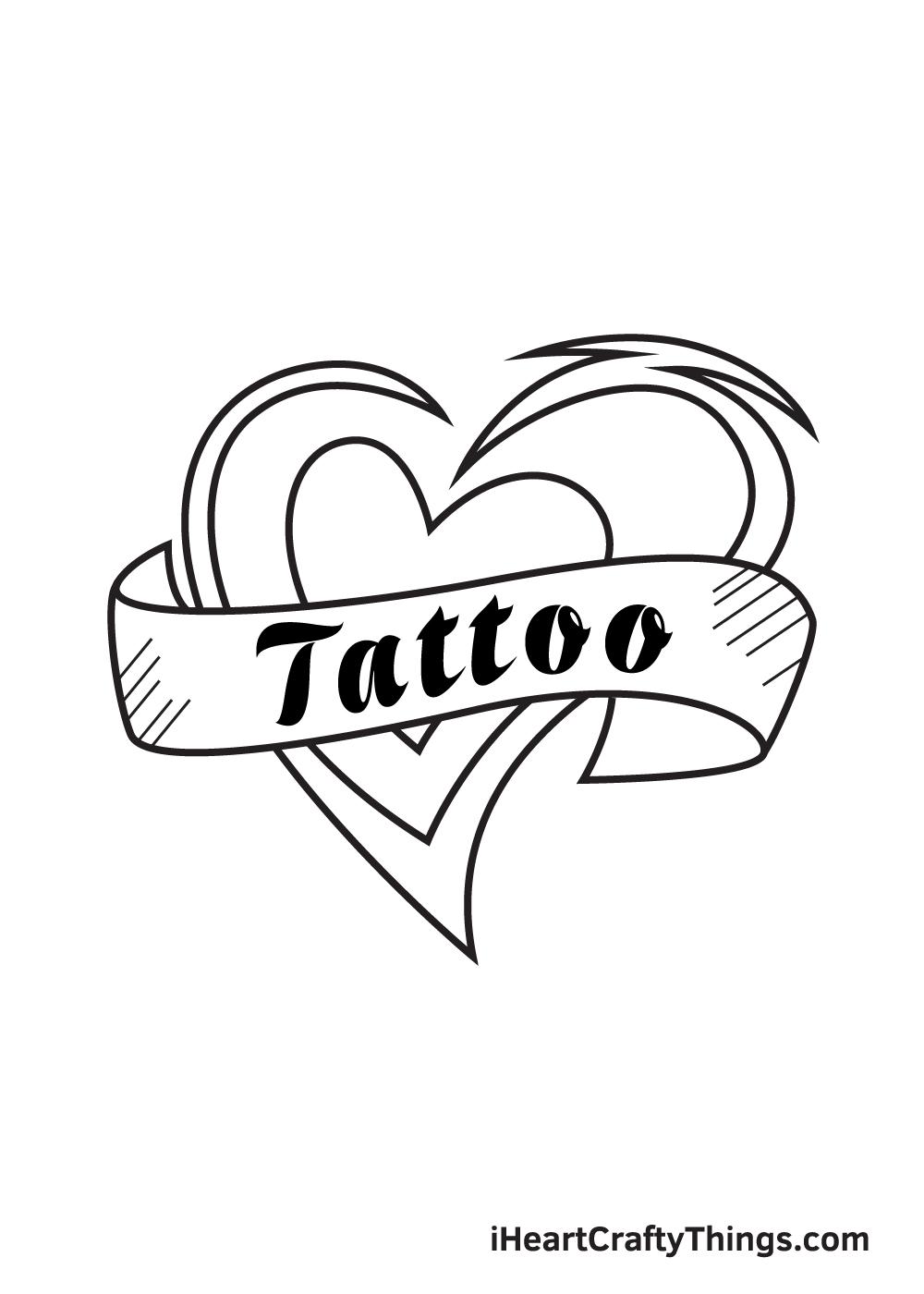 tattoo drawing step 9
