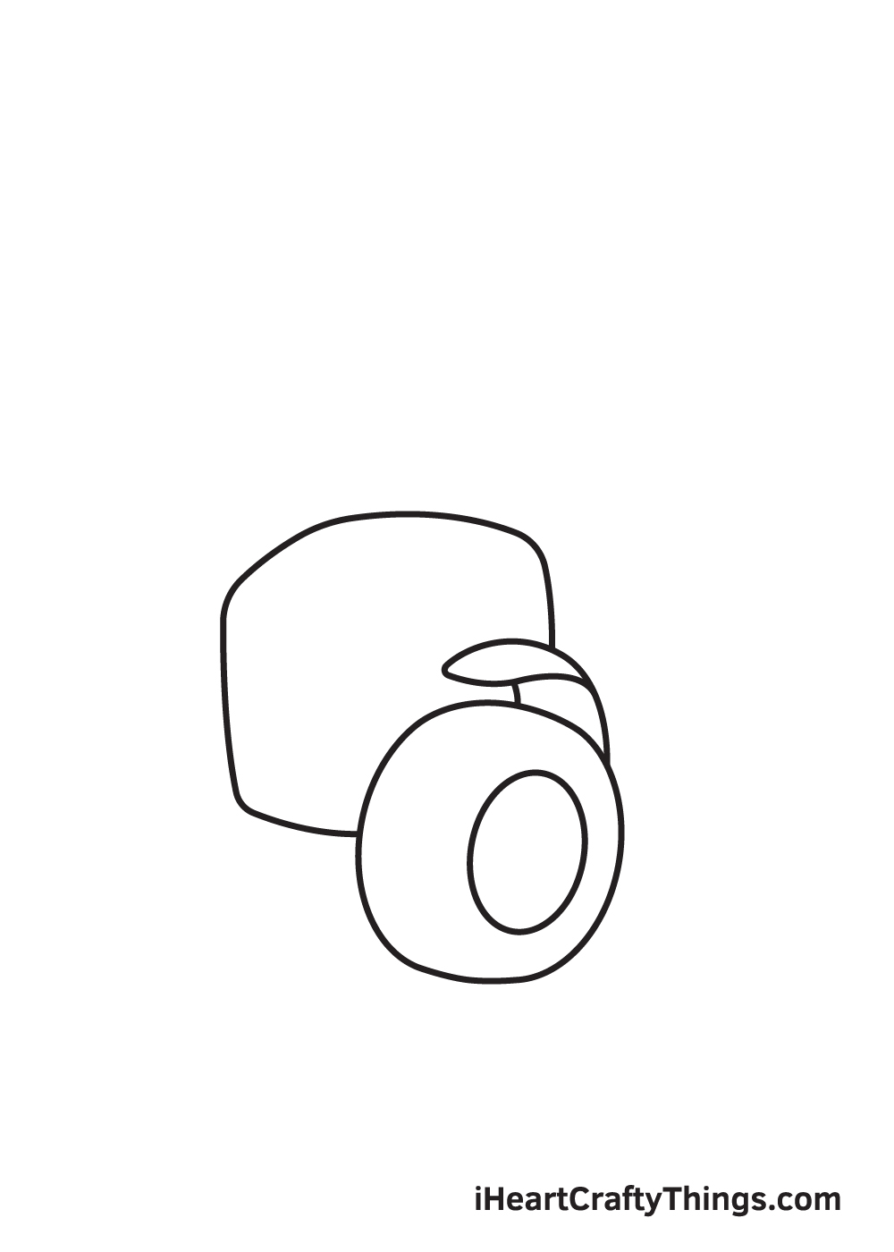 tractor drawing step 2