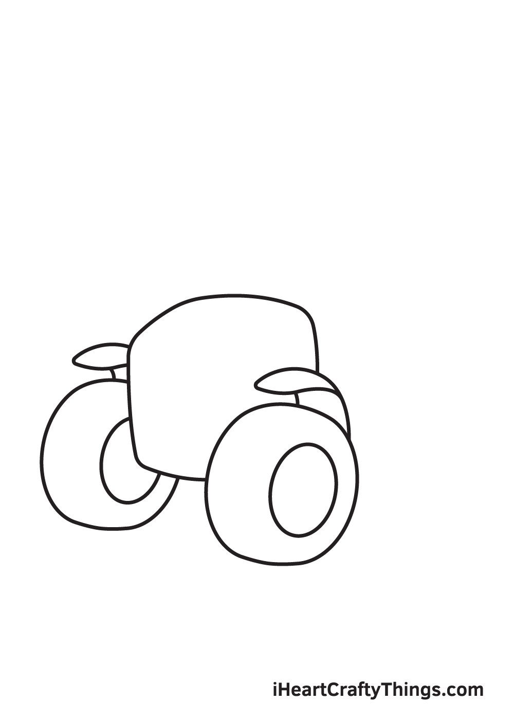 tractor drawing step 3