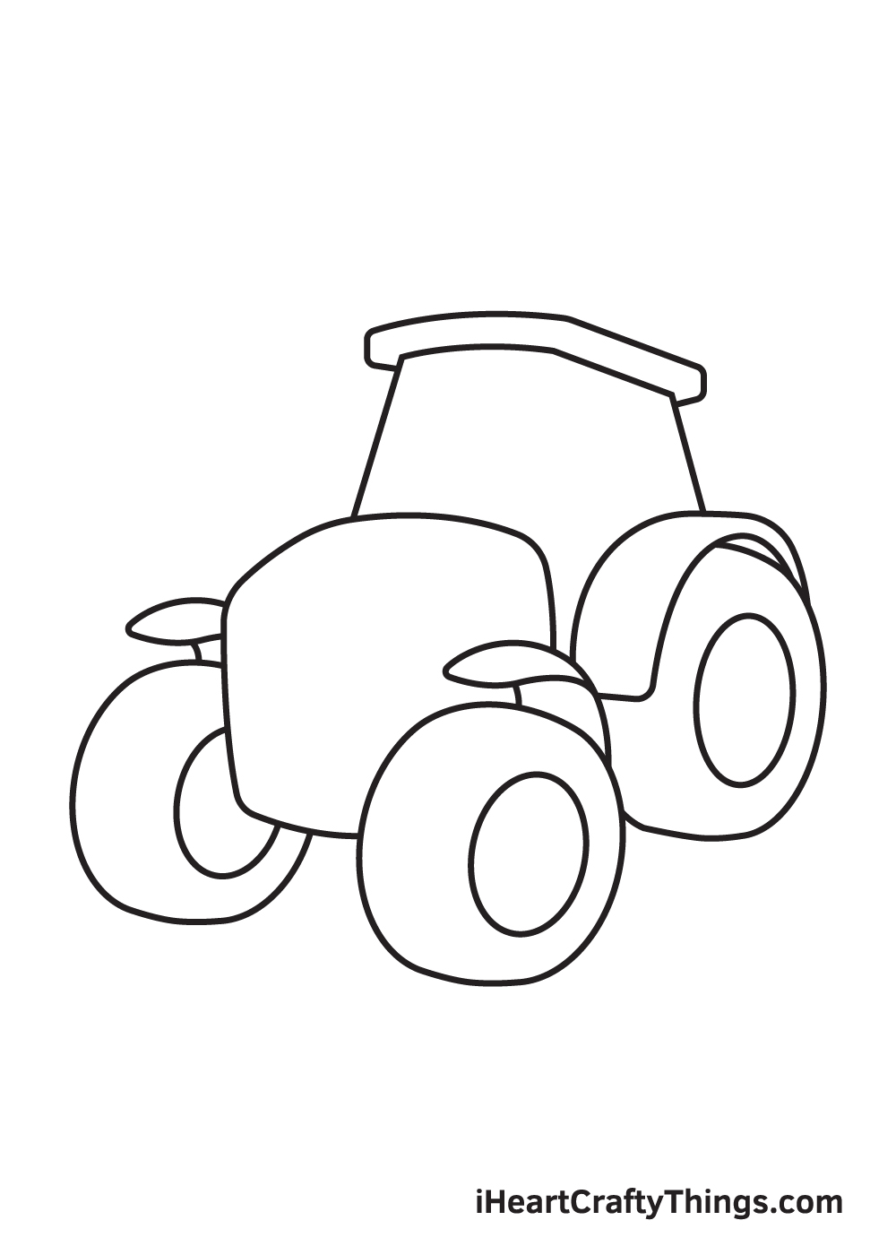 tractor drawing step 5