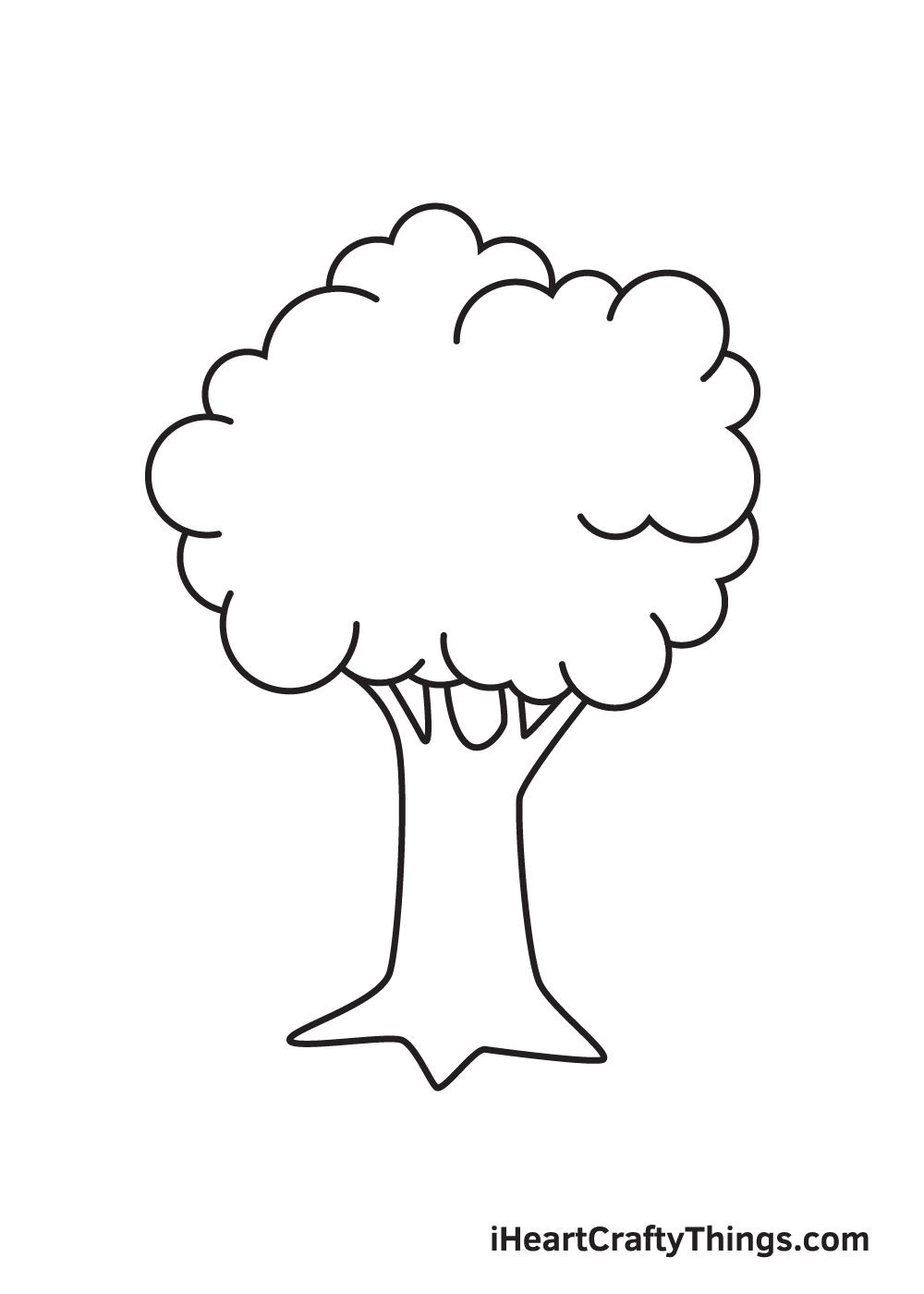 tree drawing step 9