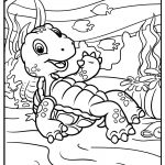 turtle coloring images free printable