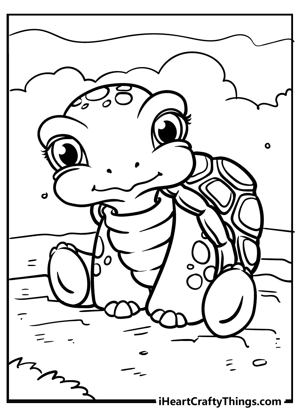 reptiles coloring turtle coloring pages free printable