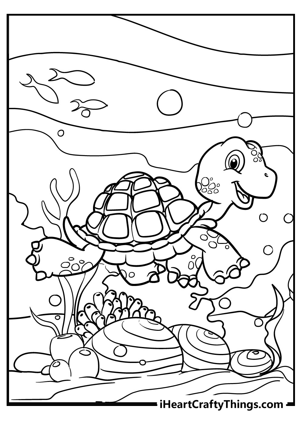 tortoise colouring pages for kids free printable