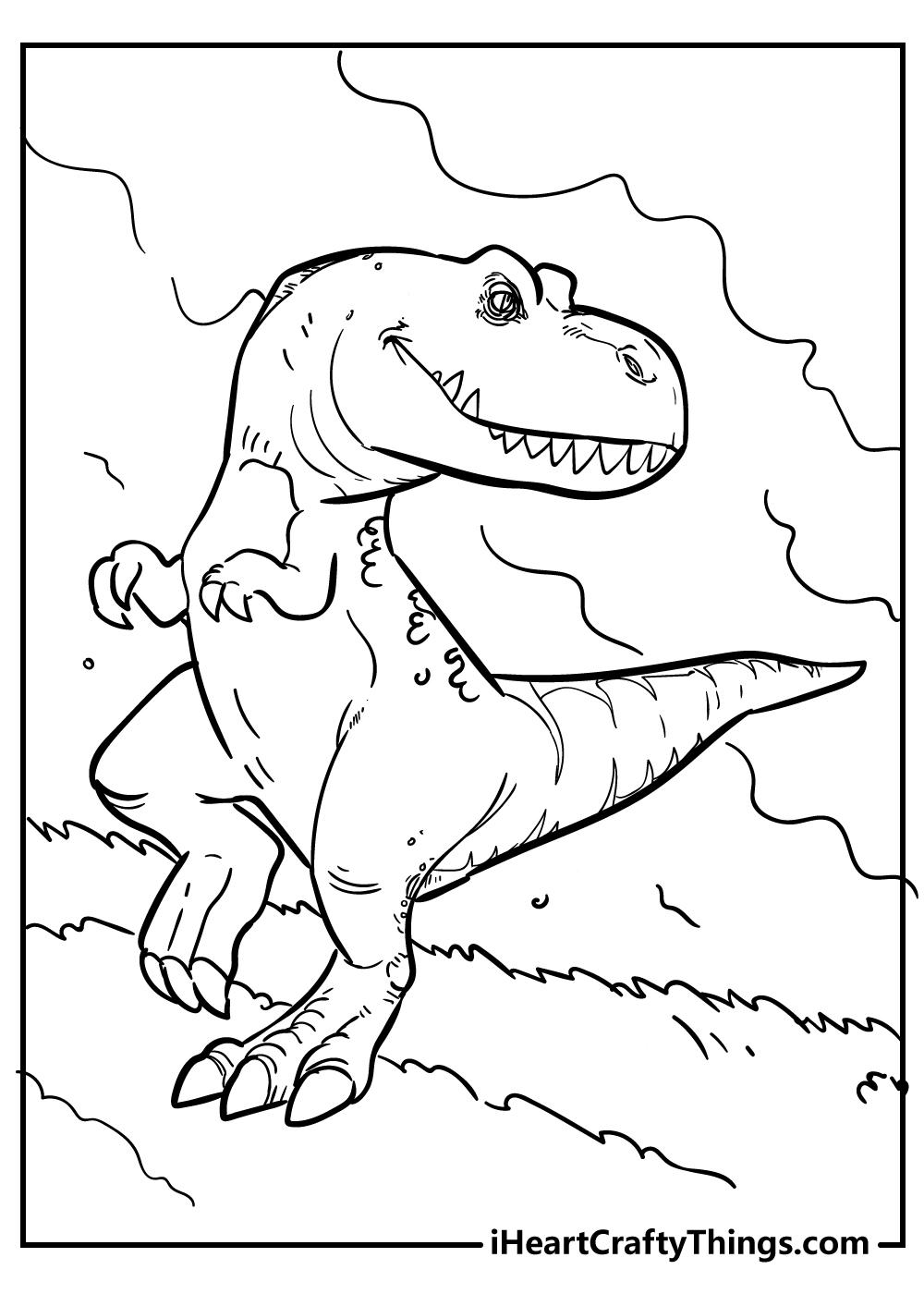 indominus rex coloring pages free printable