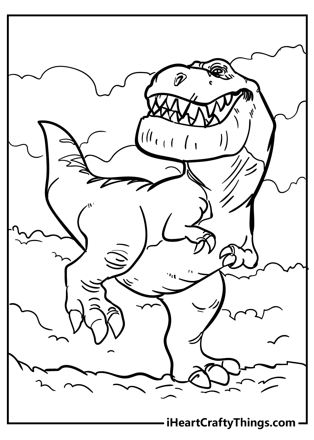 indominus rex tyrannosaurus coloring pages free printable