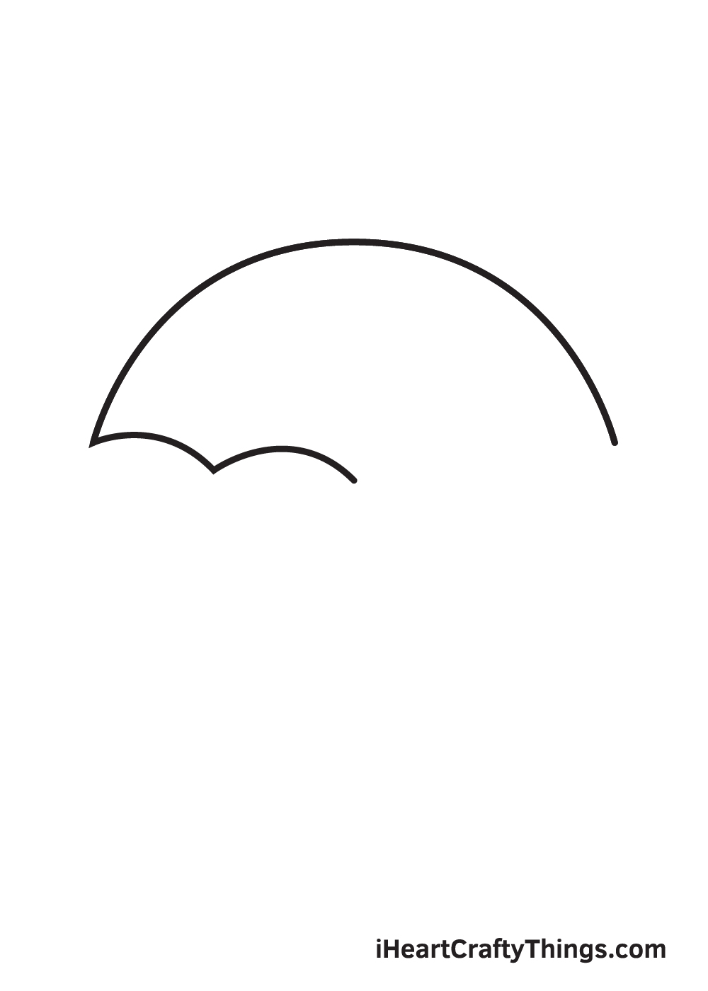 umbrella drawing step 3