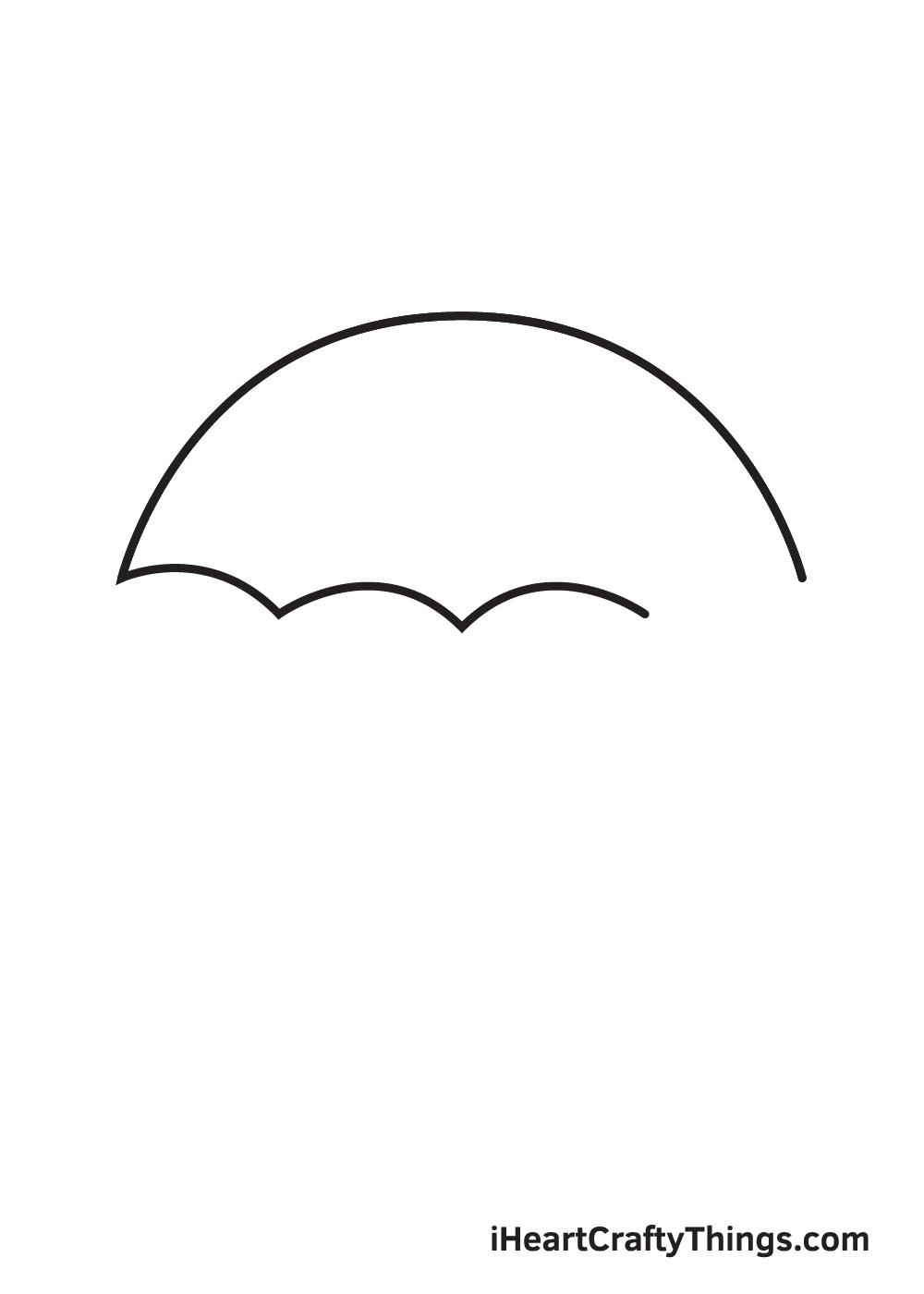 umbrella drawing step 4