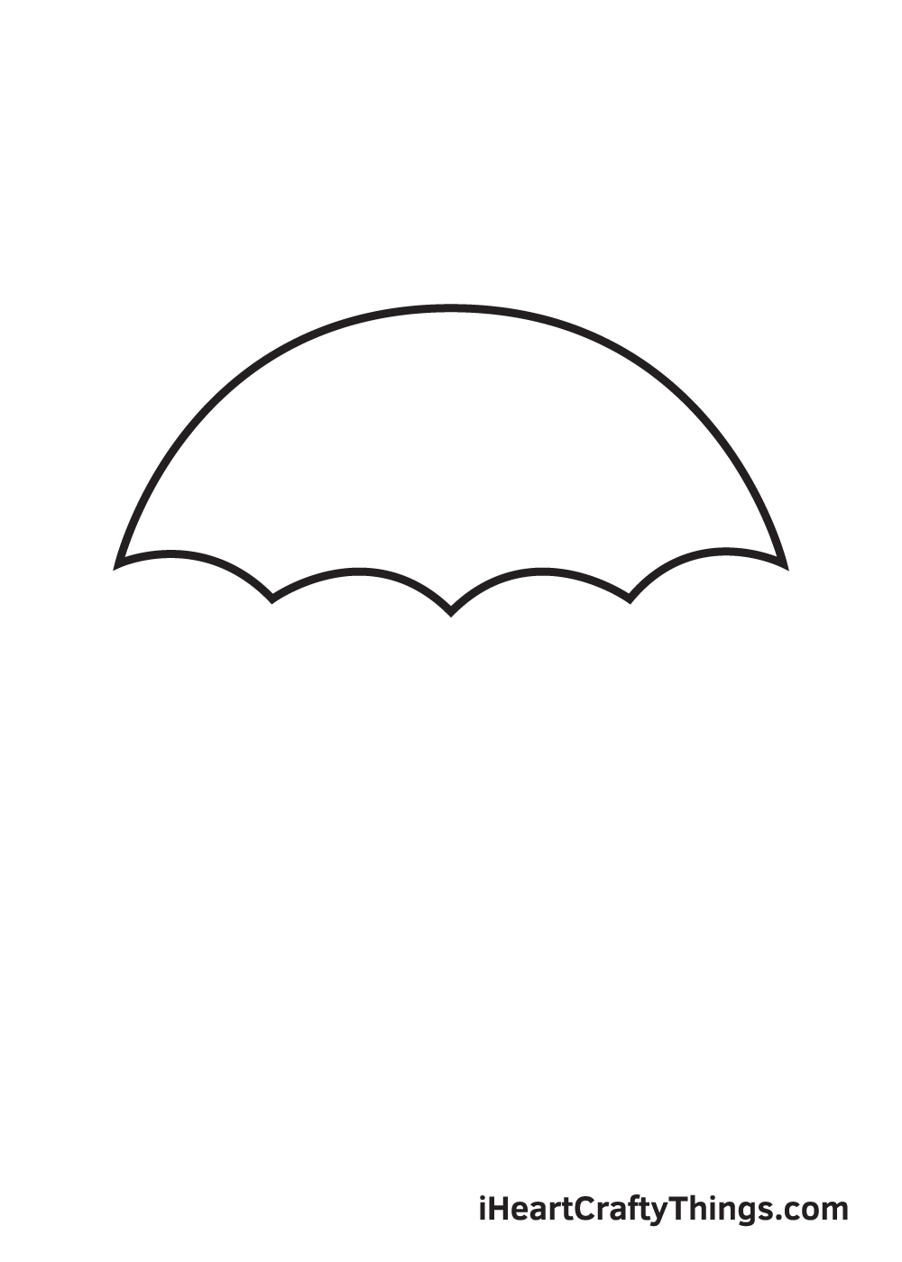 umbrella drawing step 5