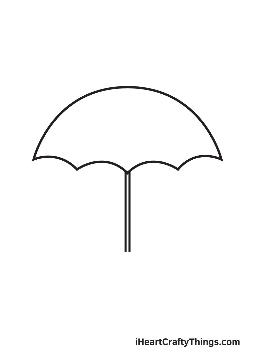 umbrella drawing step 6
