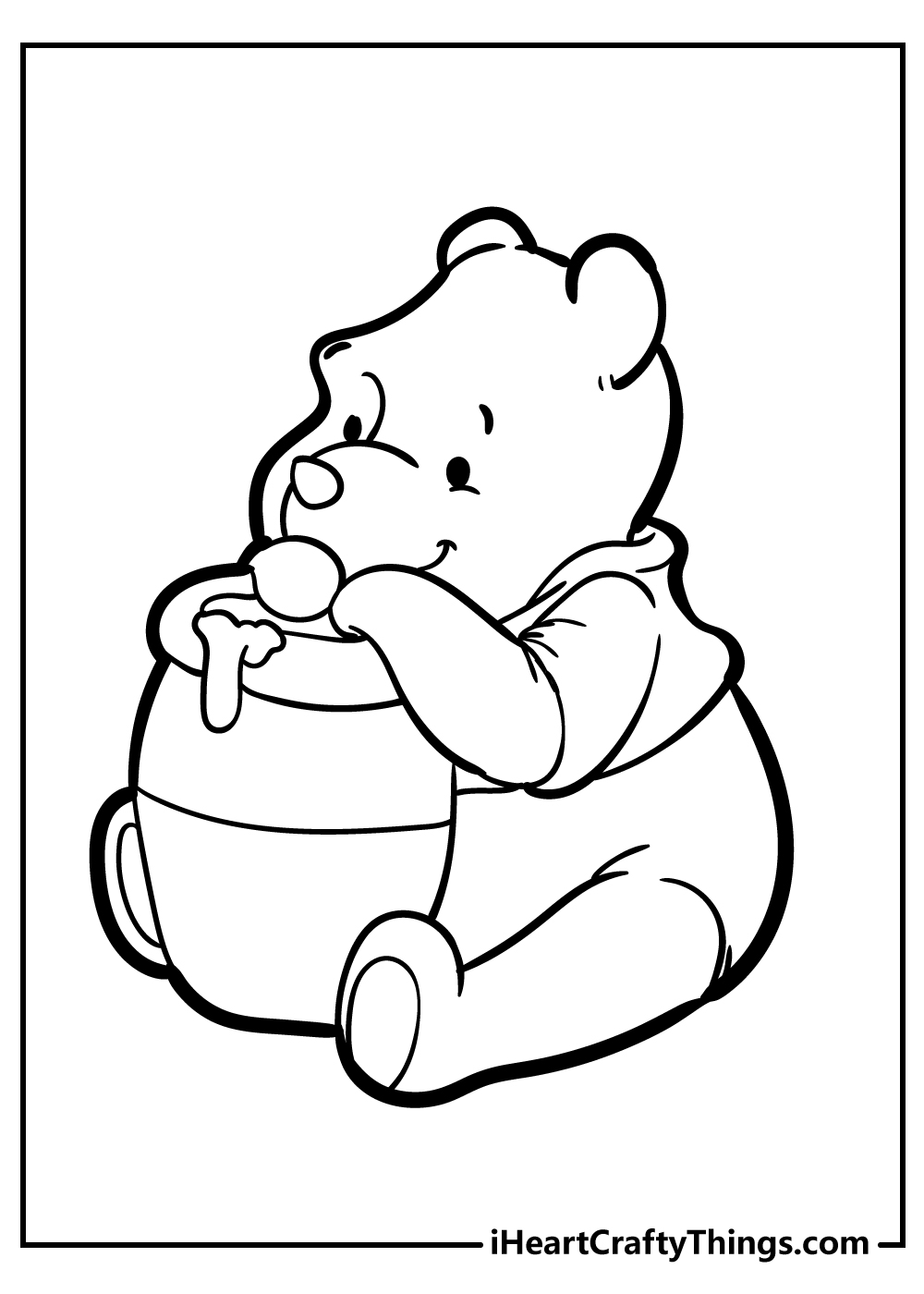 New Winnie The Pooh Coloring Pages