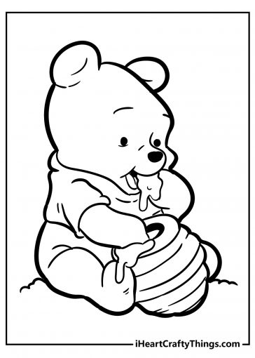 winnie the pooh coloring images