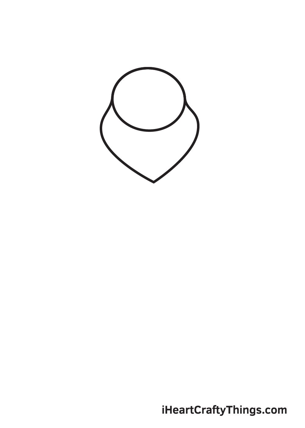 winnie the pooh drawing step 2