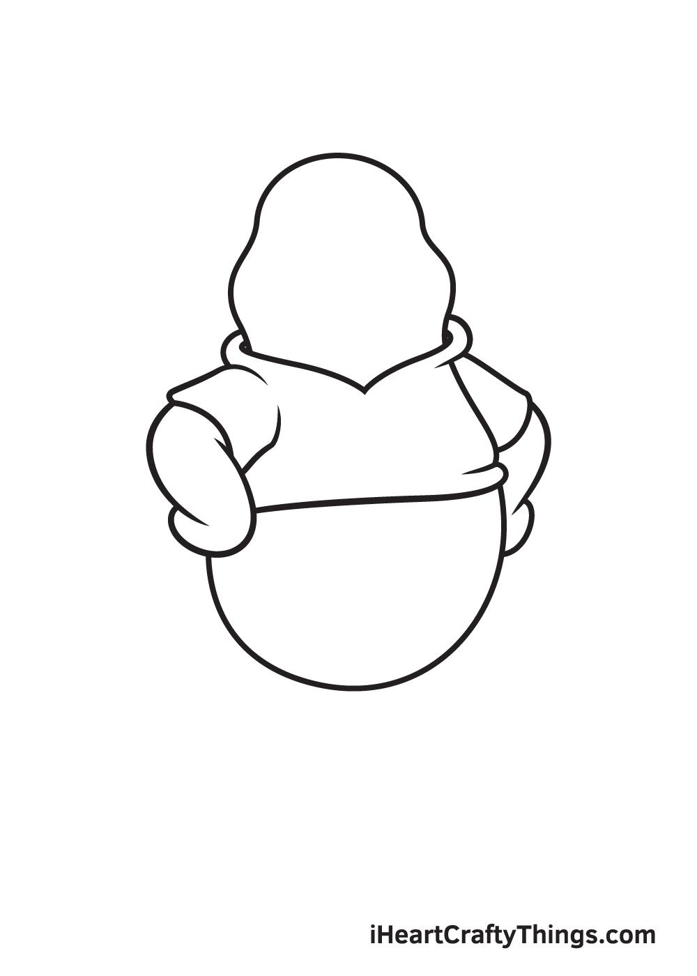 winnie the pooh drawing step 6
