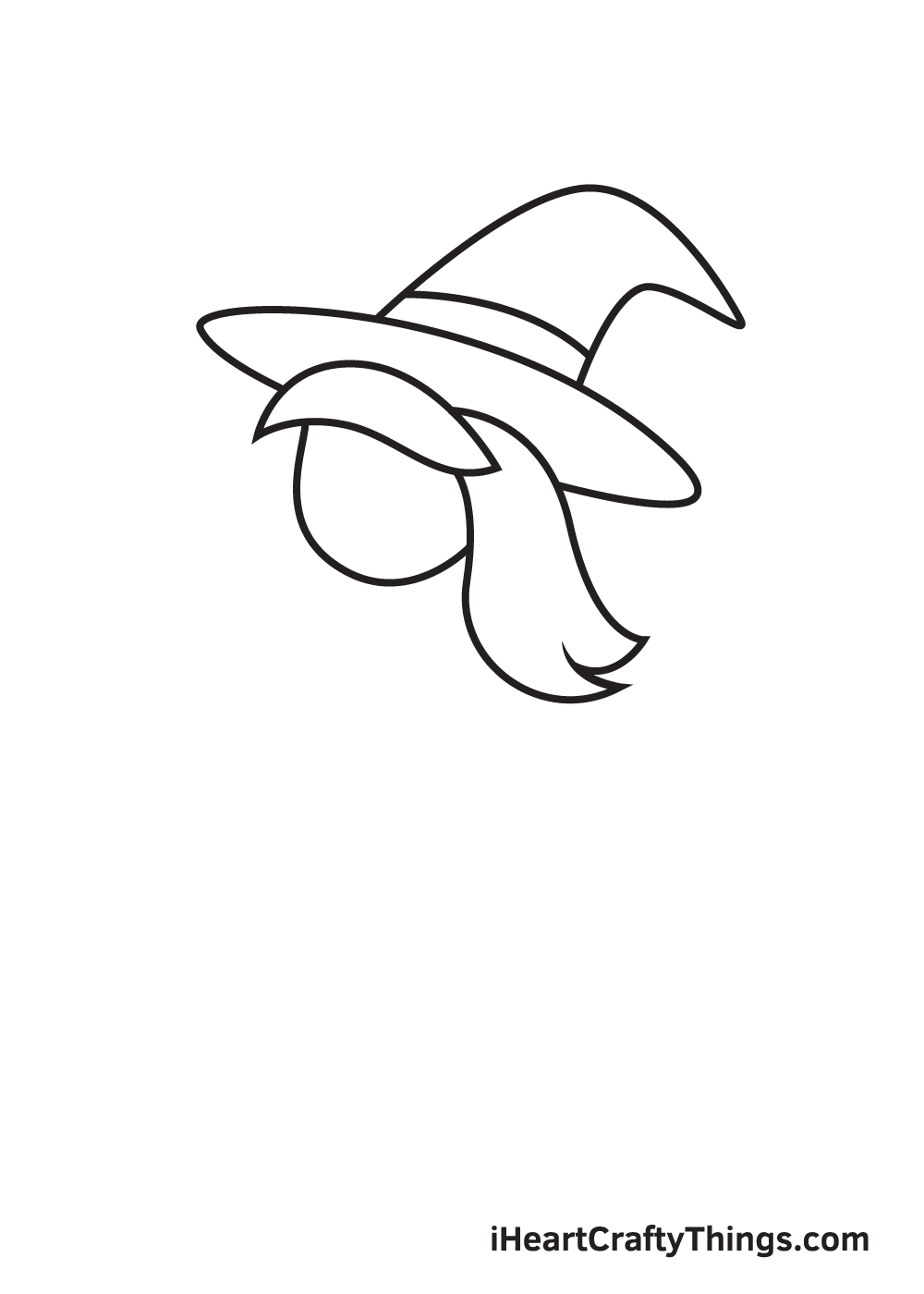 witch drawing step 5