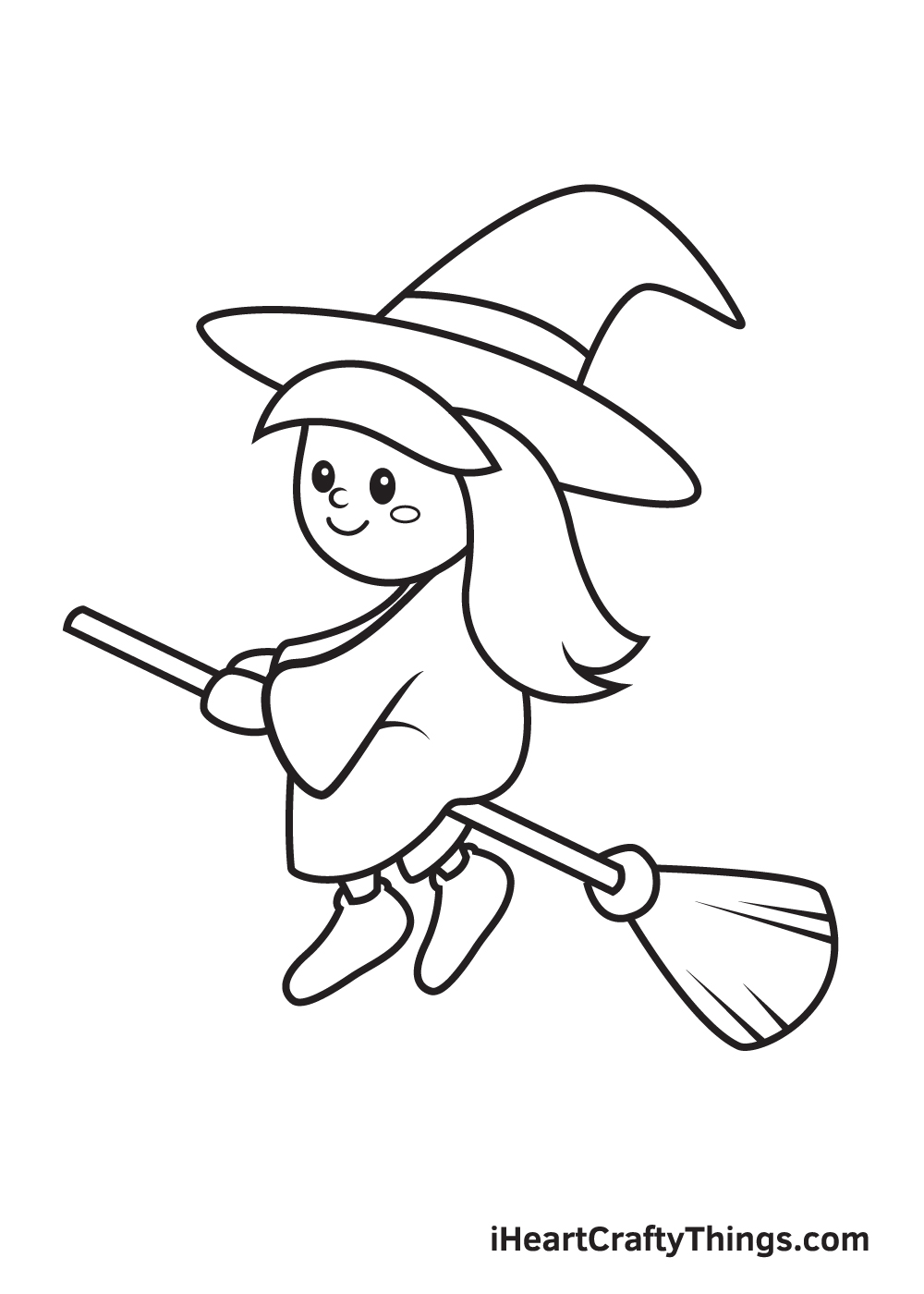 witch drawing step 9