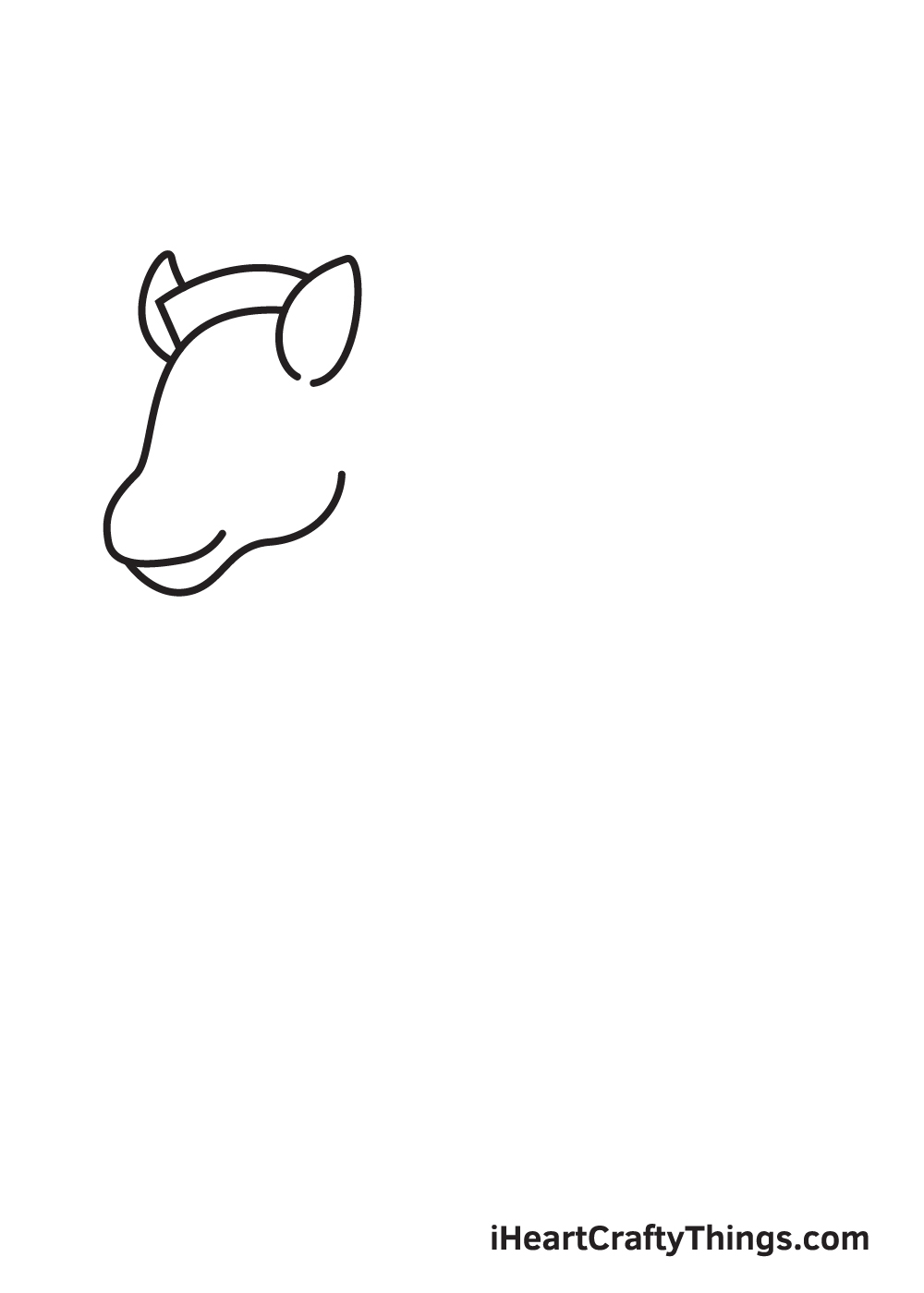 zebra drawing step 2