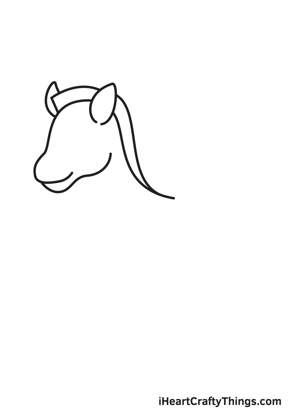 zebra drawing step 3