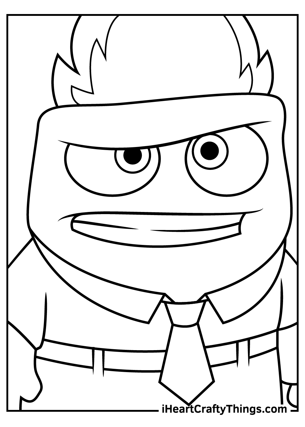 disney inside out coloring pages free download
