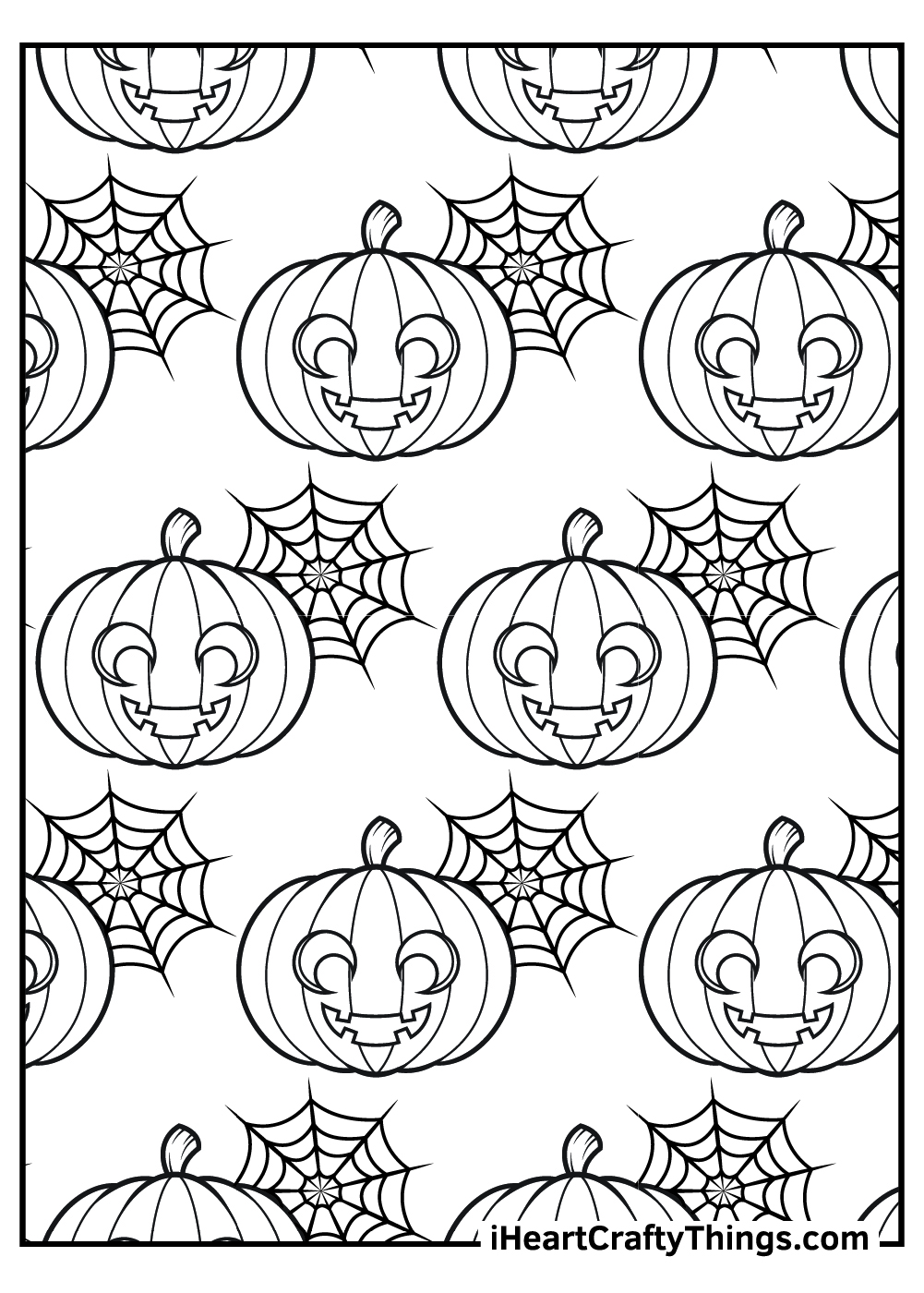 halloween jack o lantern coloring pages free printable