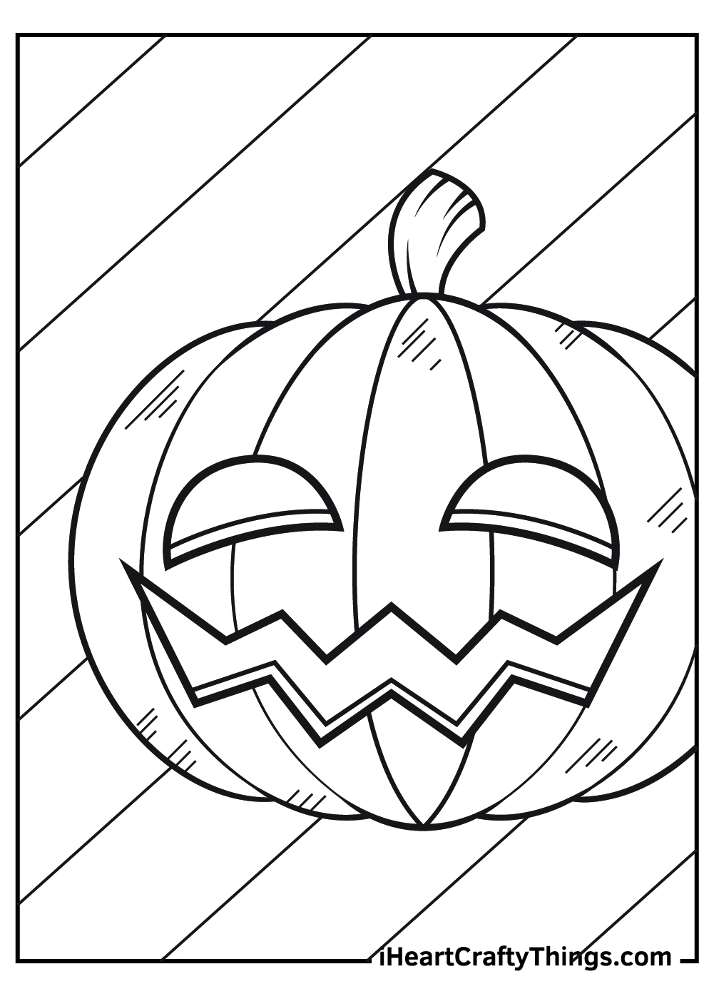 halloween jack o lantern coloring pages free download