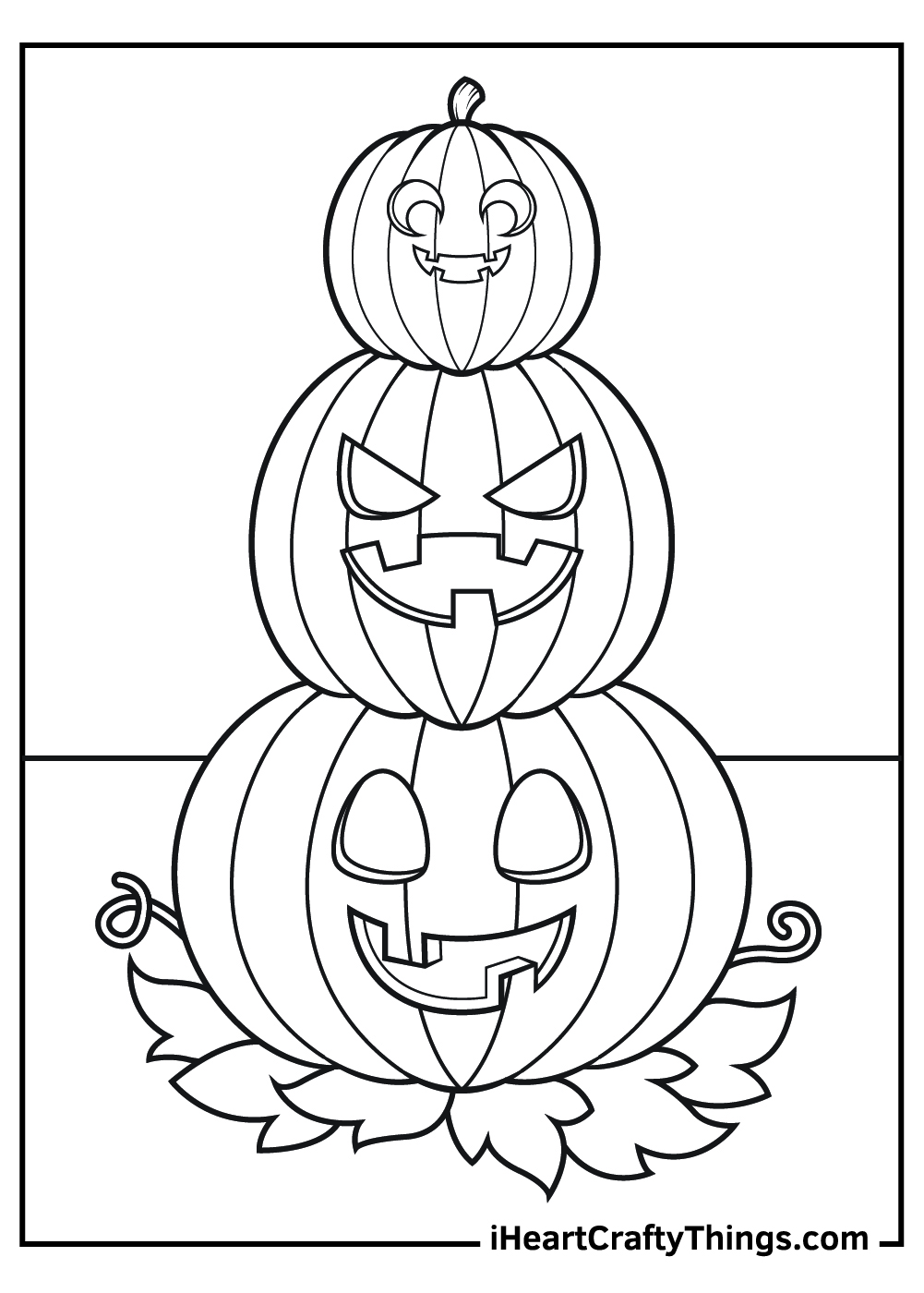 halloween jack o lantern coloring pages adult