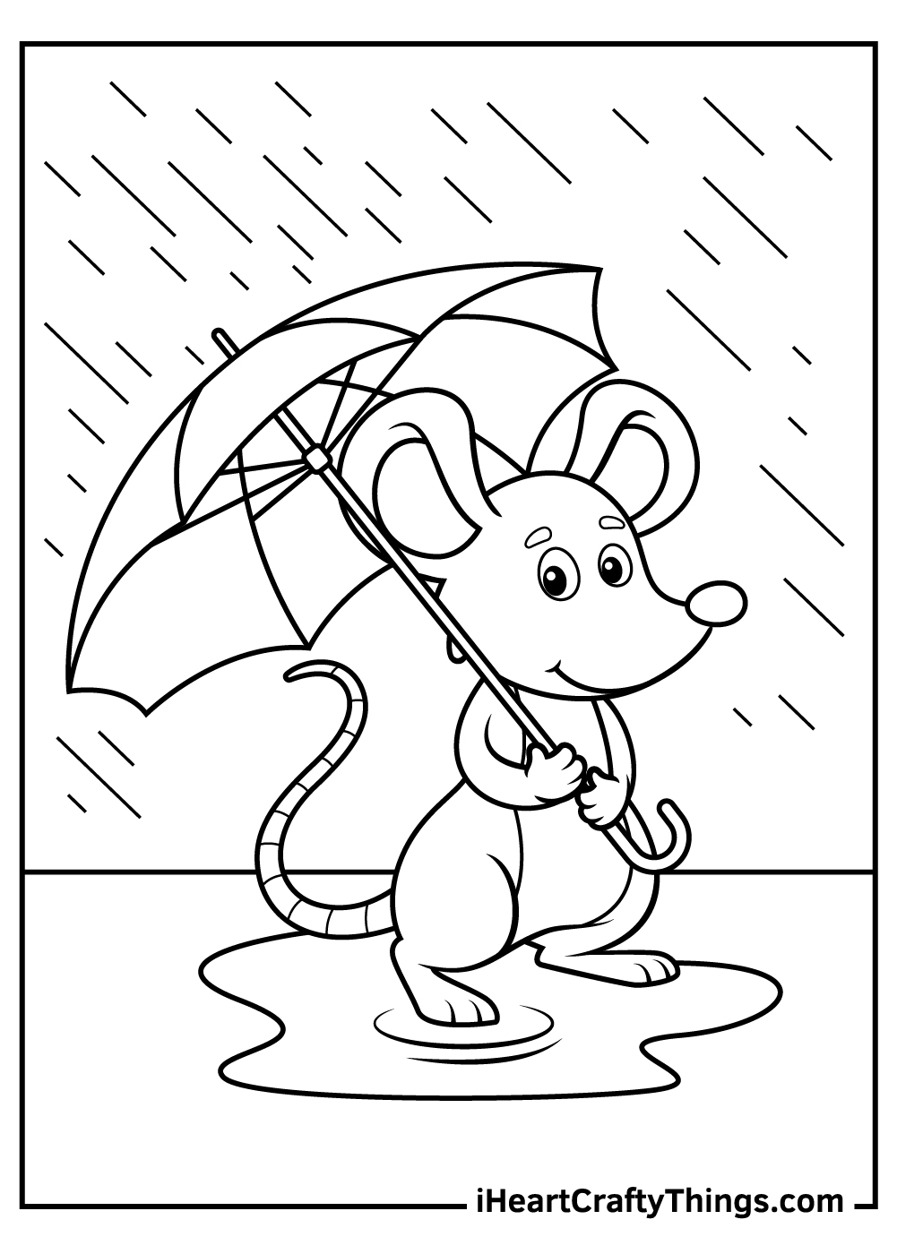 cartoon mouse coloring pages free download