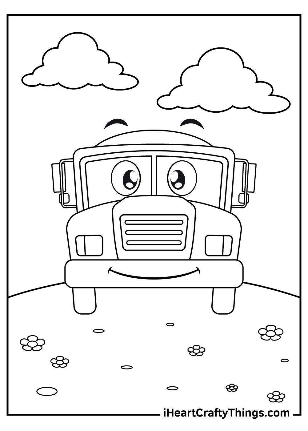 ice cream truck coloring pages free printable
