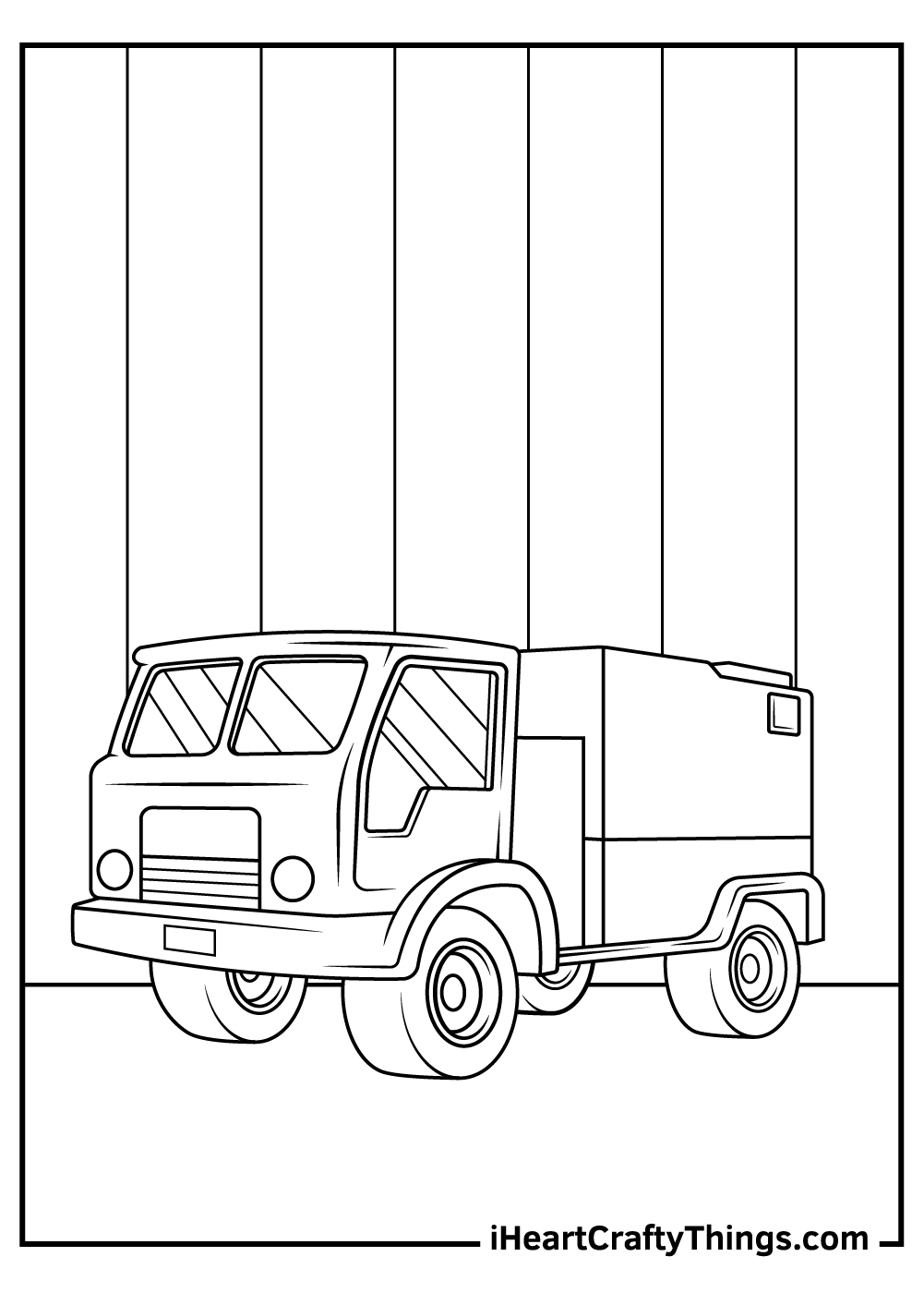 army truck coloring pages free printable