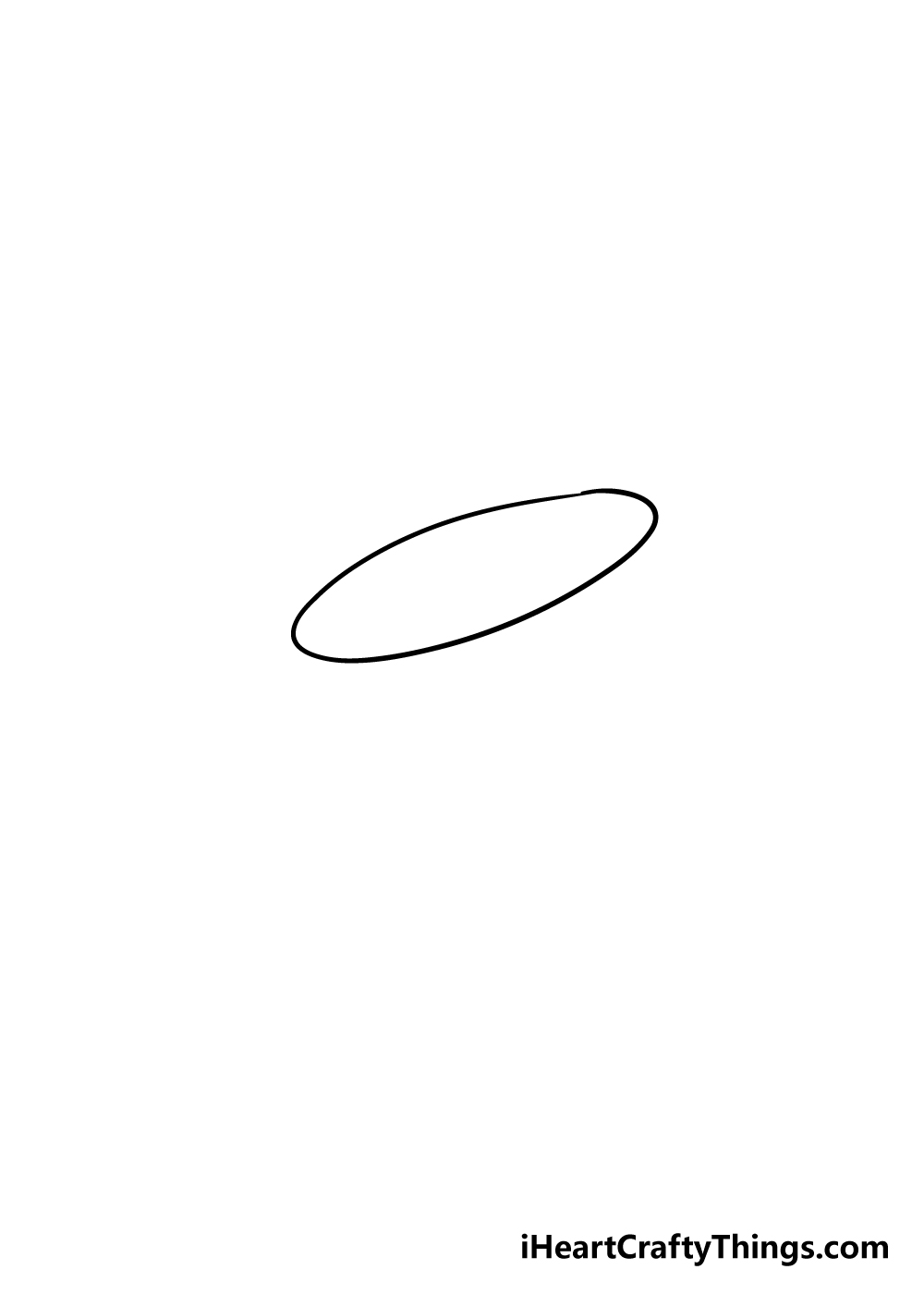 hat drawing step 1
