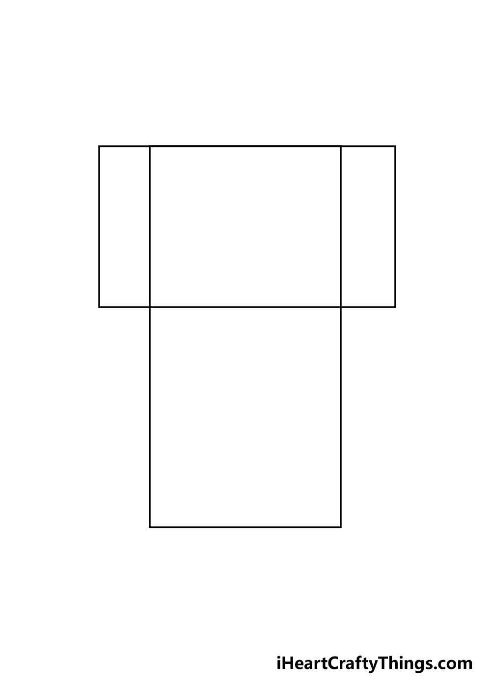 shirt drawing step 1