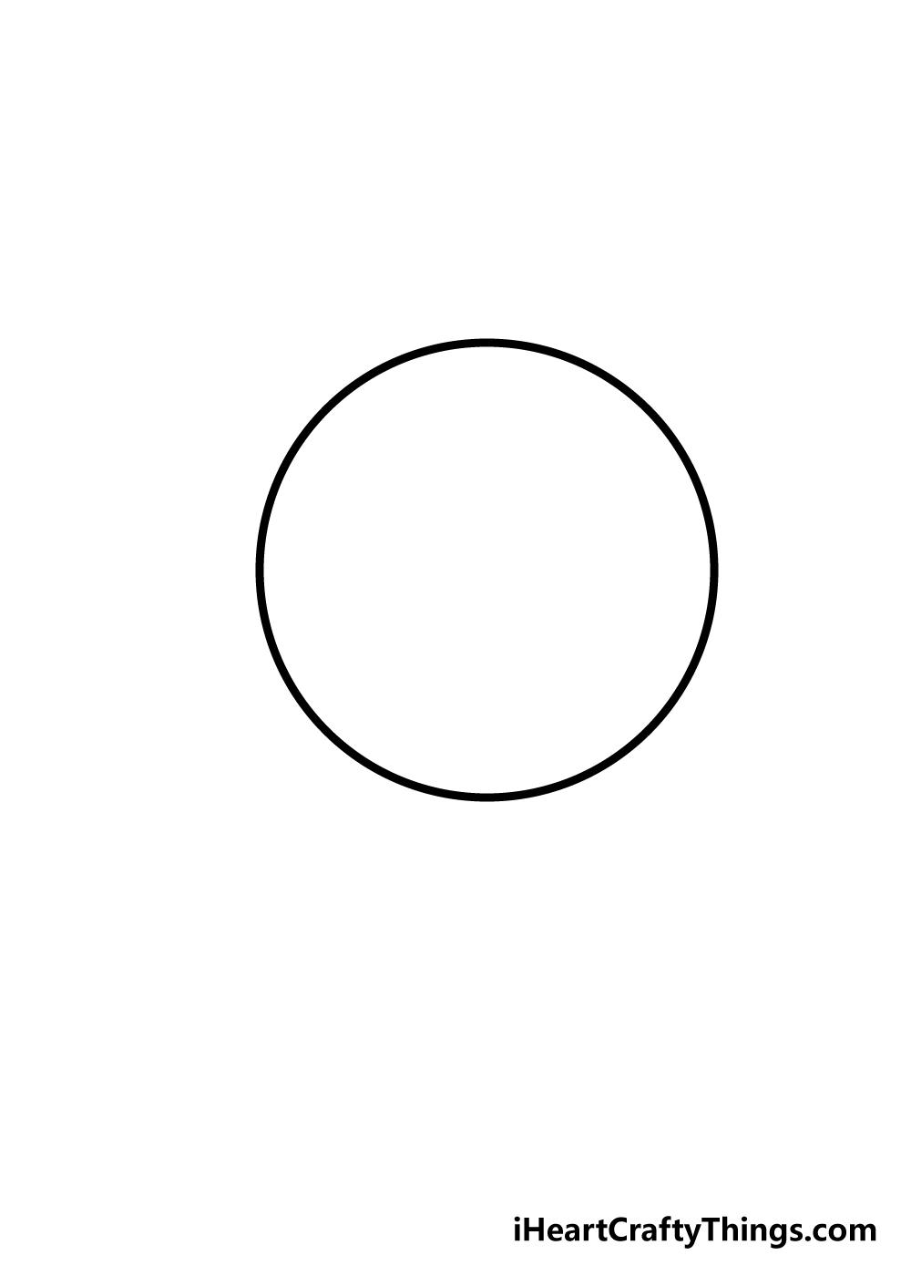 sphere drawing step 1