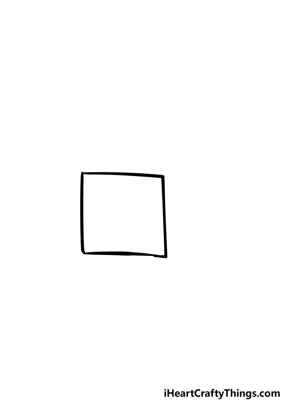 box drawing step 1