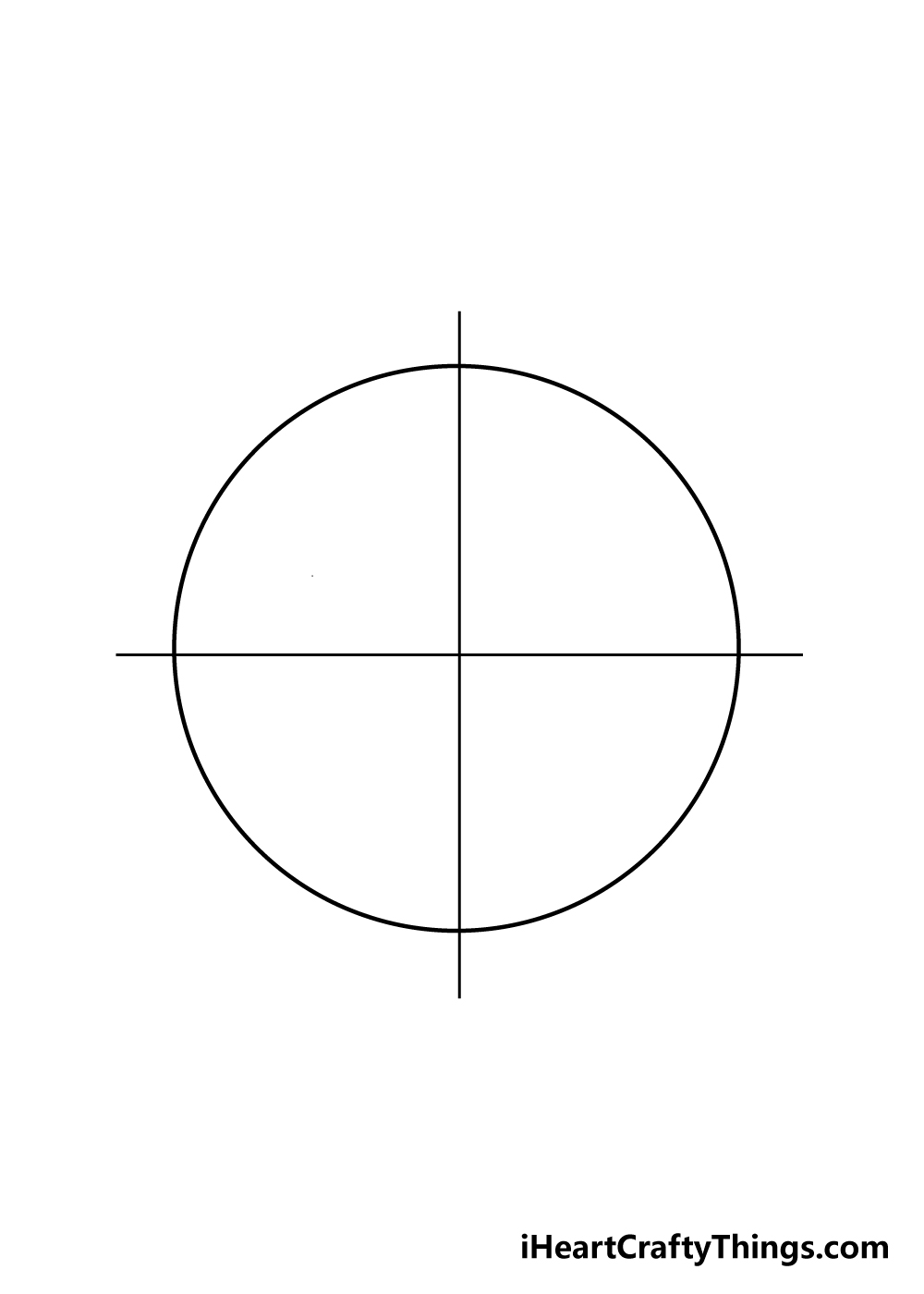 mandala drawing step 1