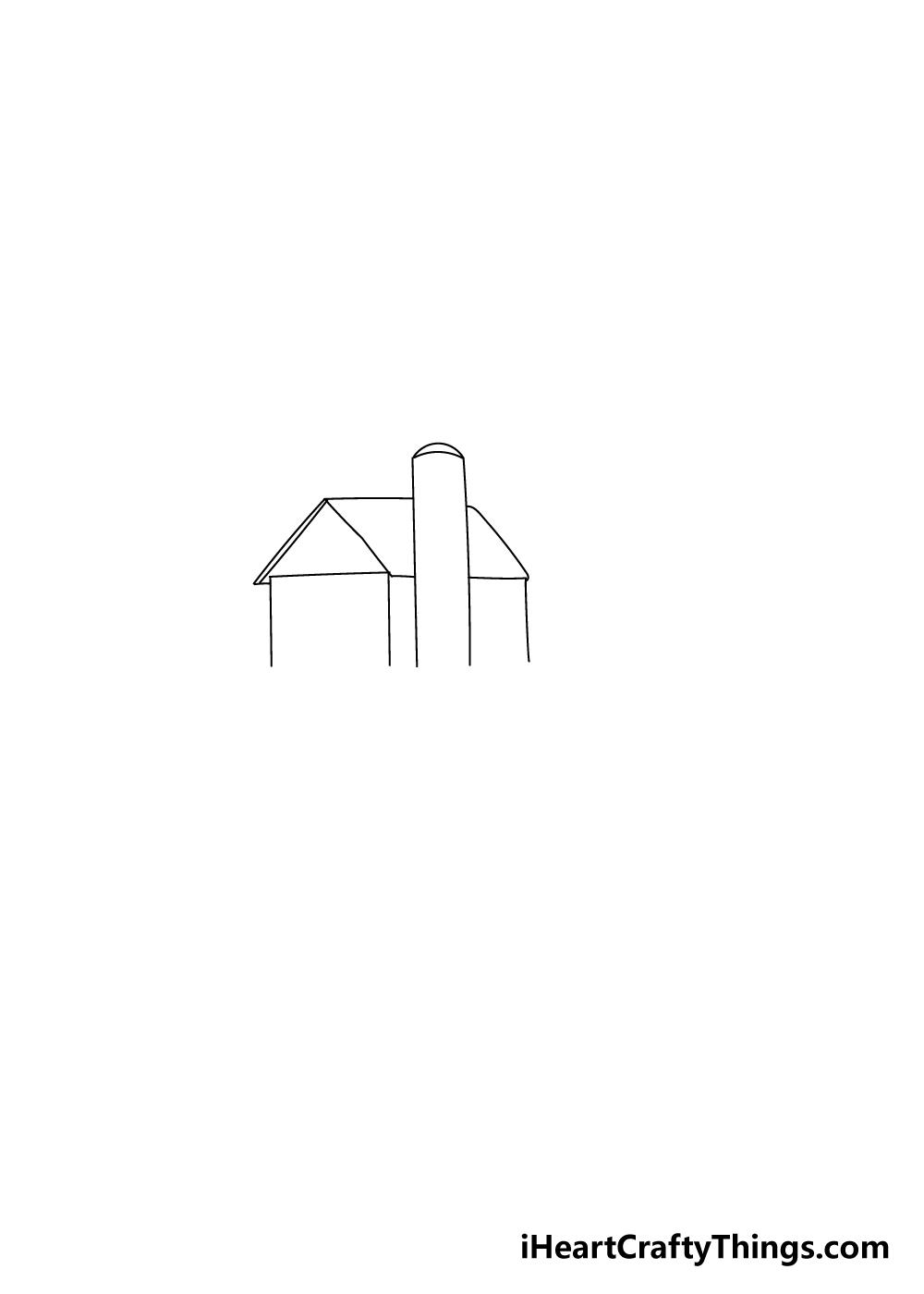 farm drawing step 1