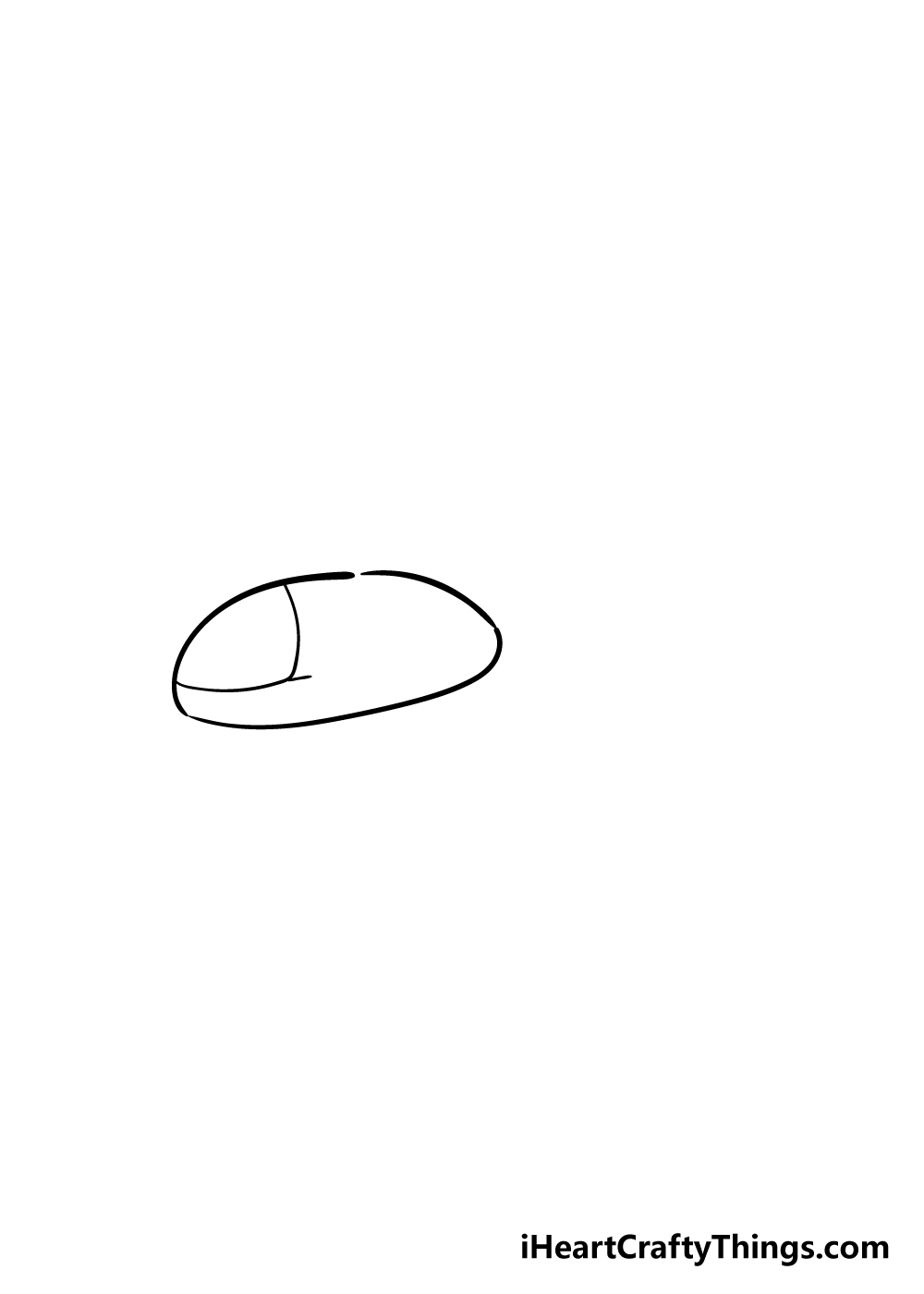 helicopter drawing step 1