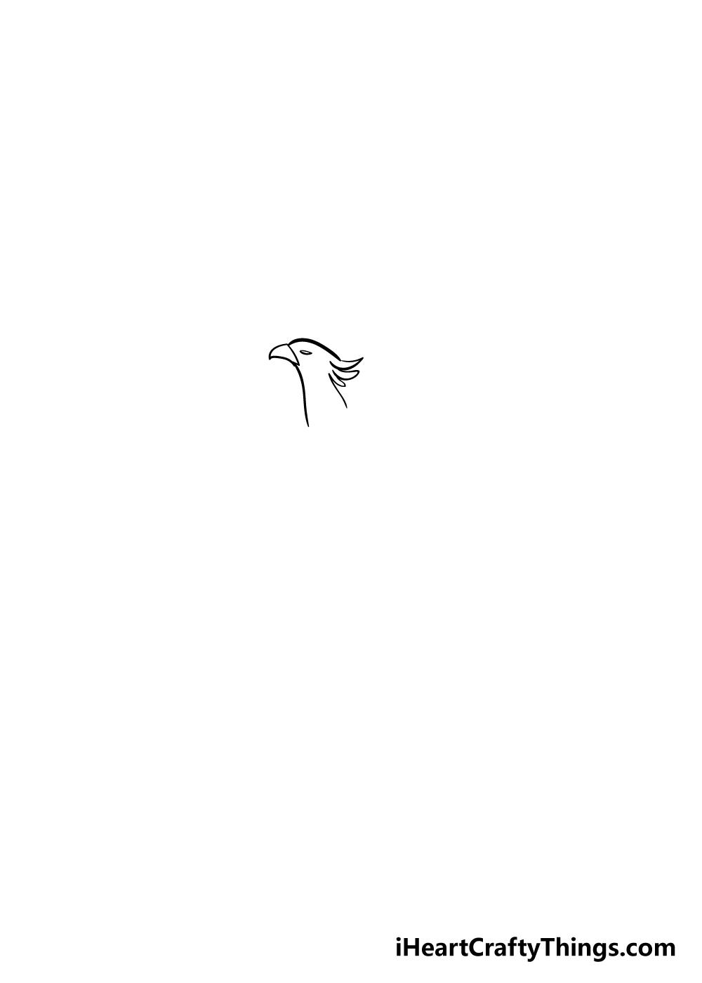 phoenix drawing step 1